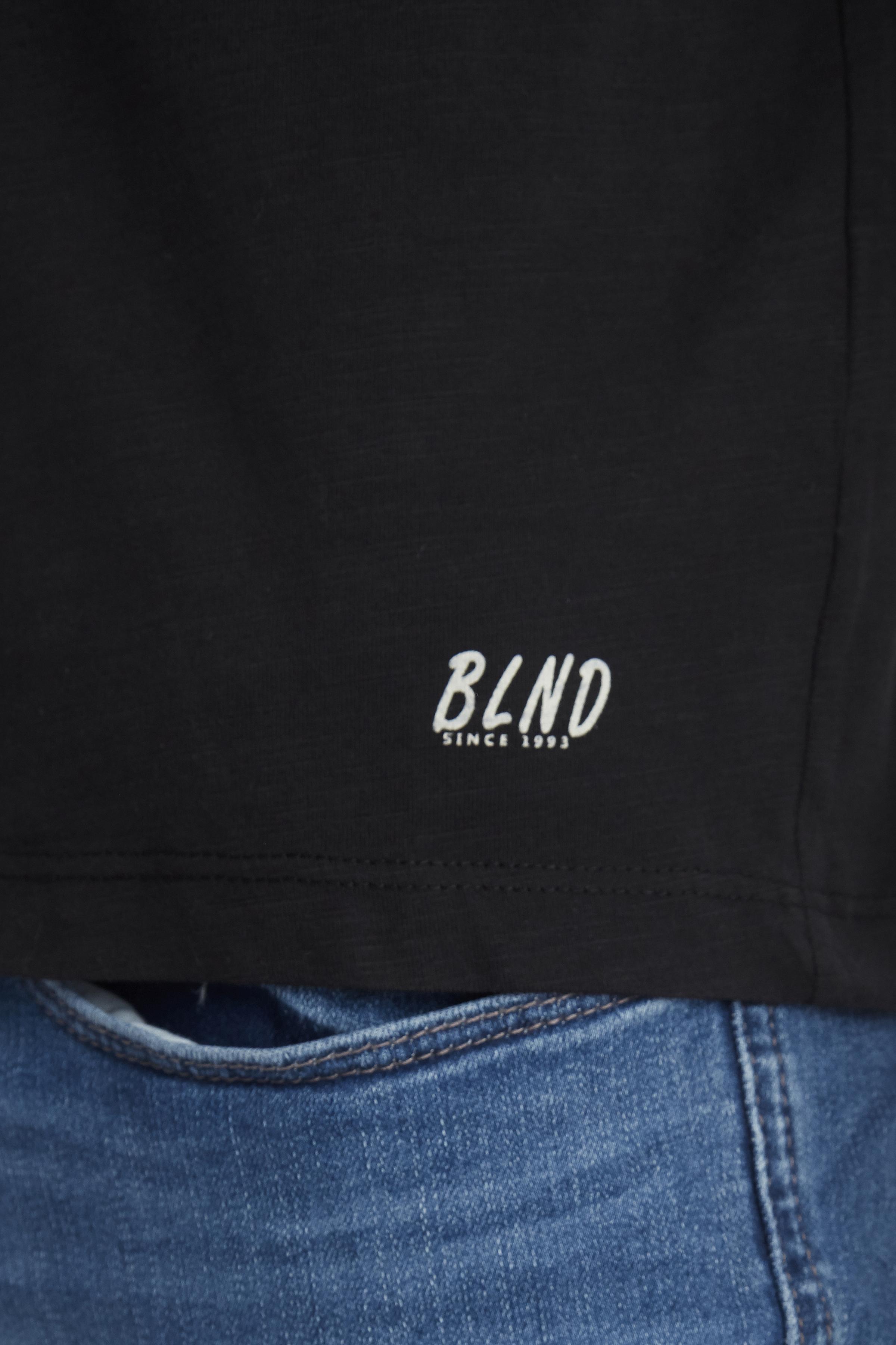 Black BHNICOLAI Long sleeved T-shirt fra Blend He – Køb Black BHNICOLAI Long sleeved T-shirt fra str. S-3XL her