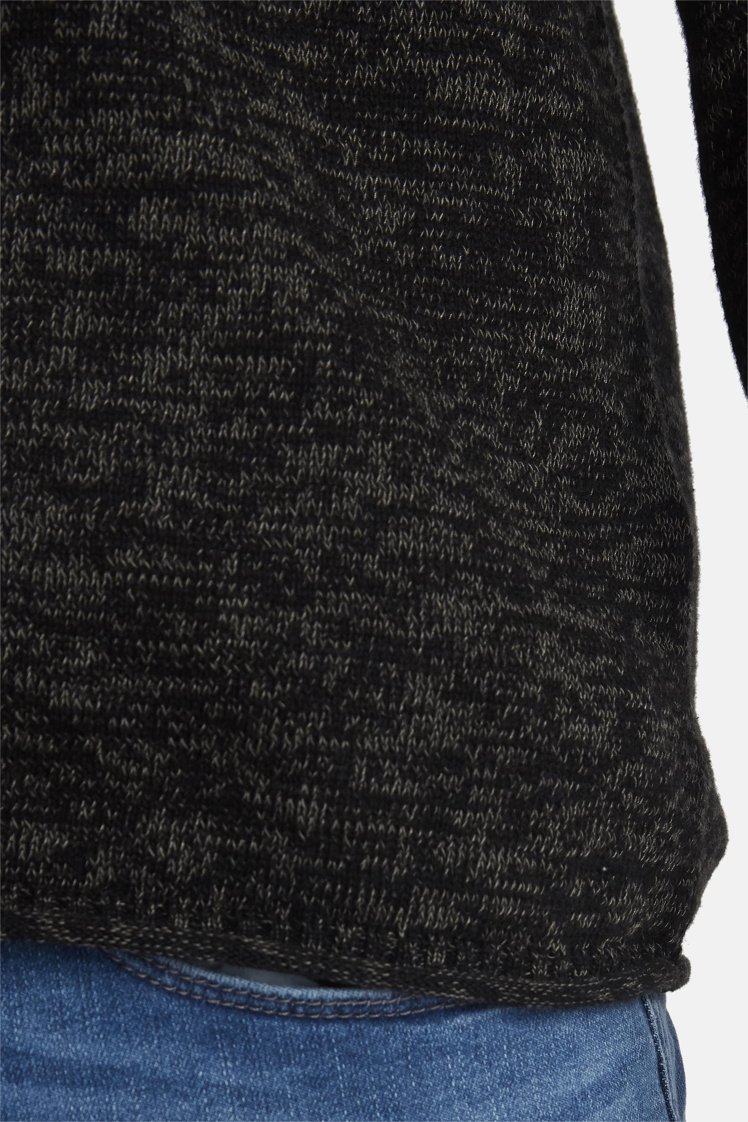 Black Knitted pullover fra Blend He – Køb Black Knitted pullover fra str. S-XXL her