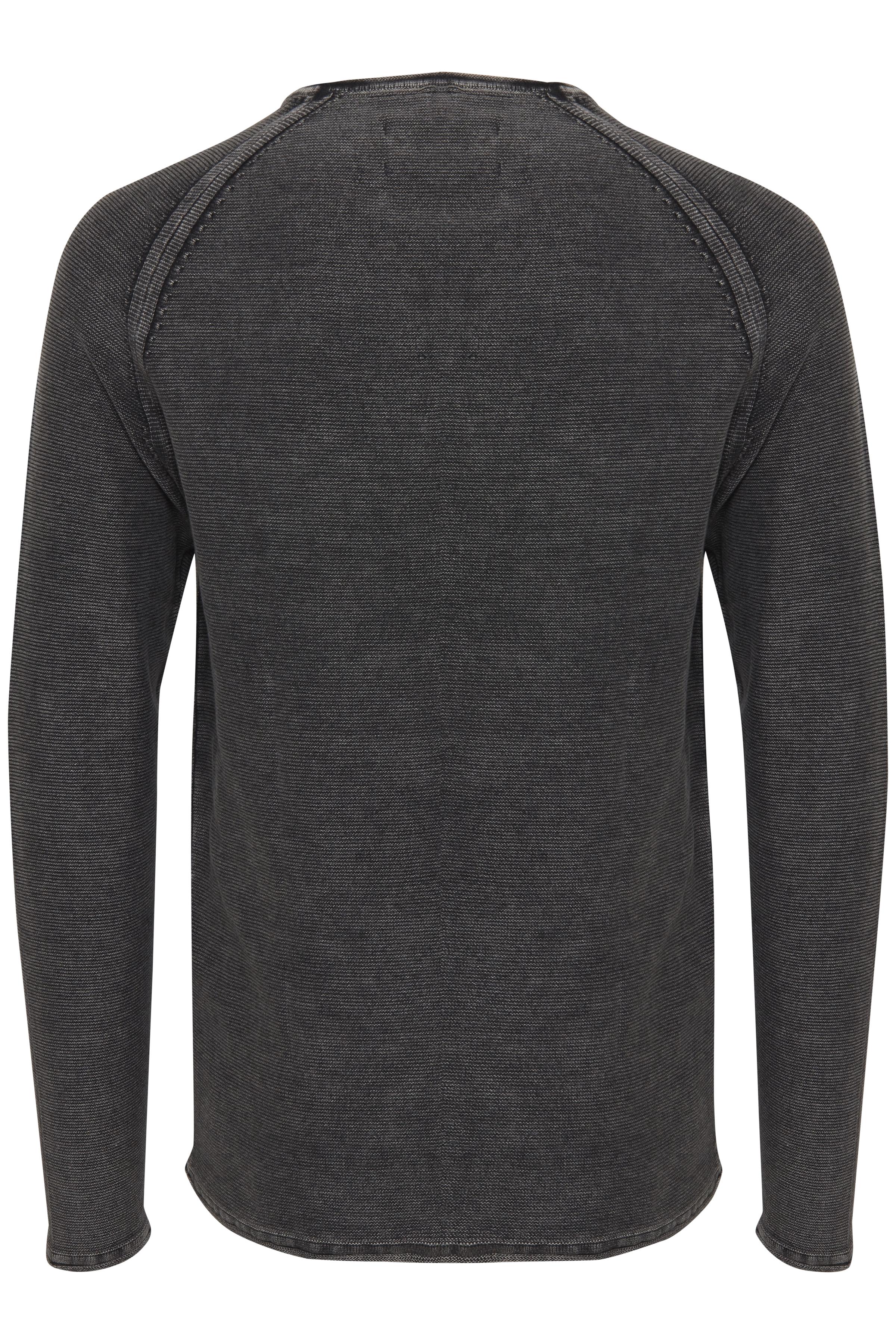 Black Knitted pullover fra Blend He – Køb Black Knitted pullover fra str. M-3XL her