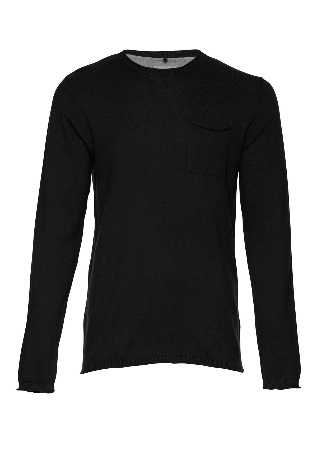 Black Strikpullover – Køb Black Strikpullover fra str. M-XXL her