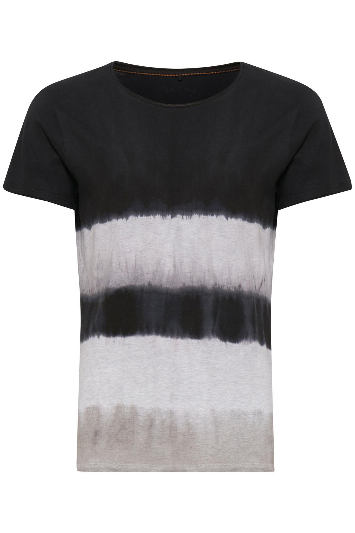 Black T-shirt fra Blend He – Køb Black T-shirt fra str. S-XXL her