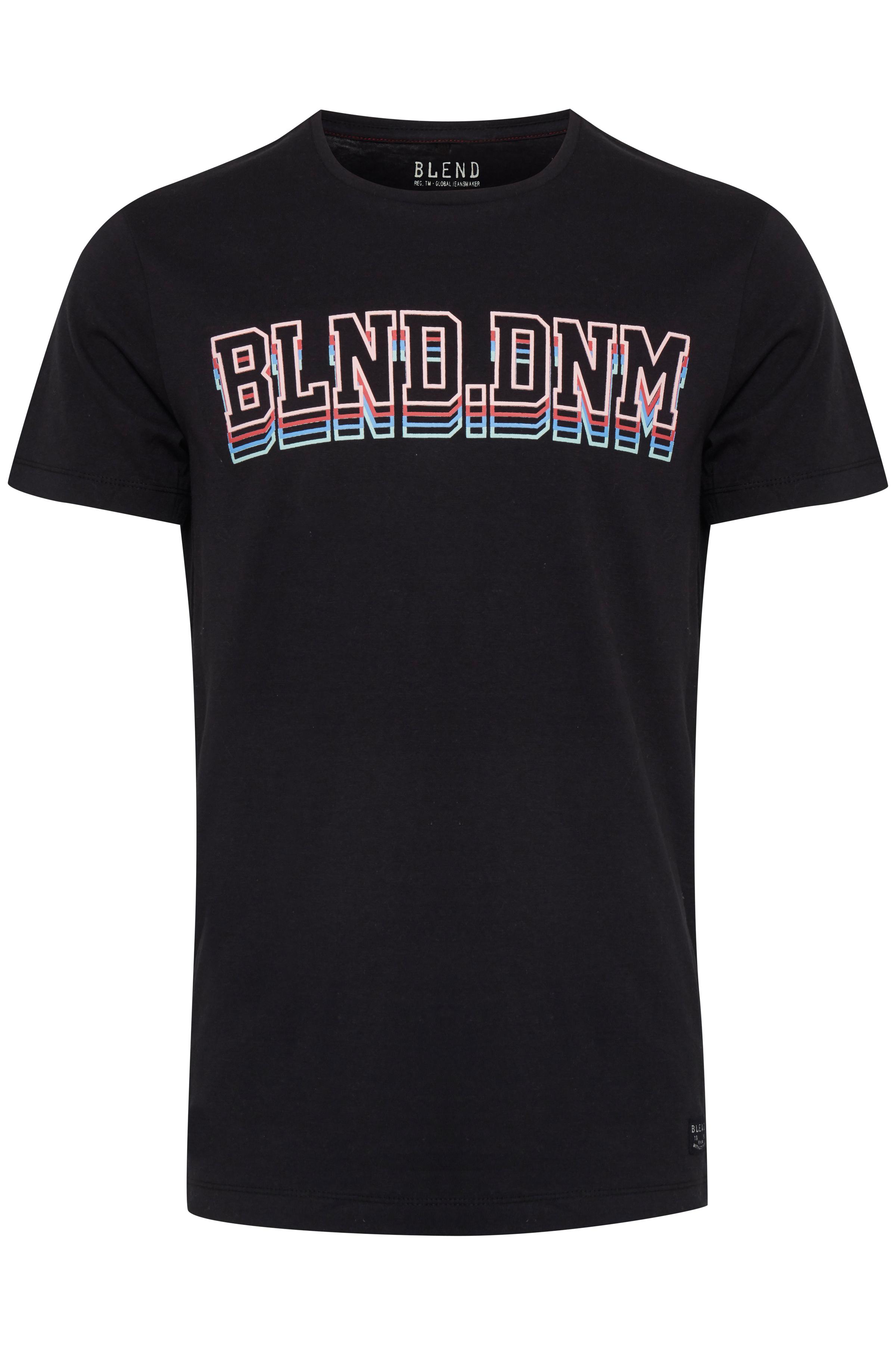 Black T-shirt – Køb Black T-shirt fra str. S-XL her