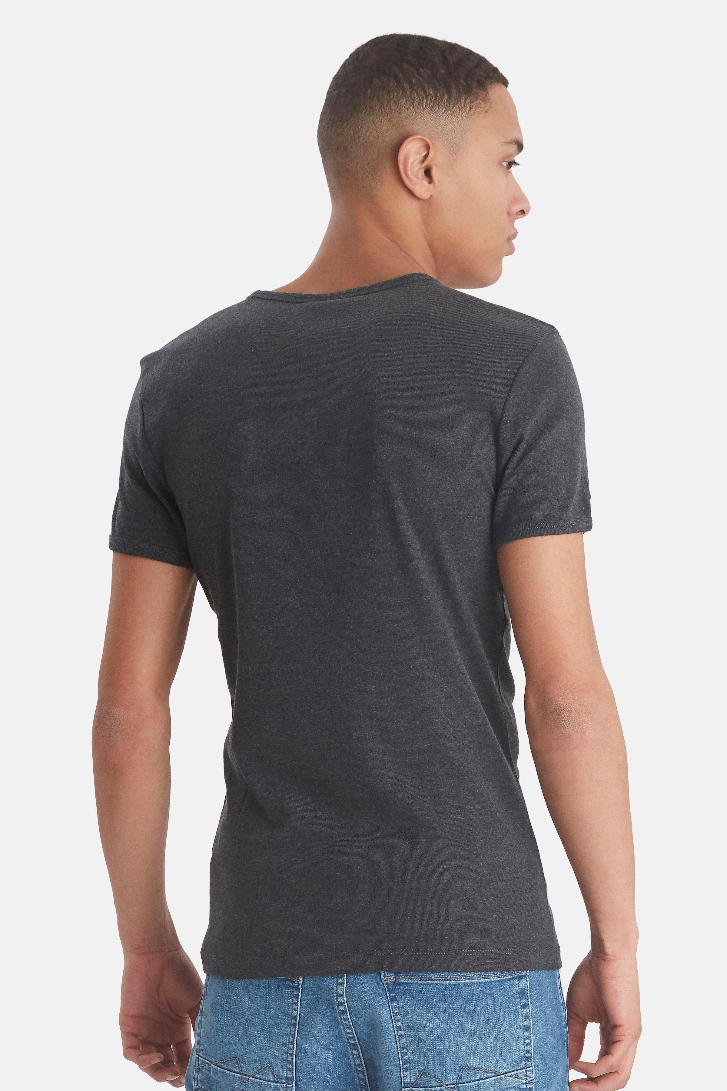 Black T-shirt fra Blend He – Køb Black T-shirt fra str. XS-3XL her
