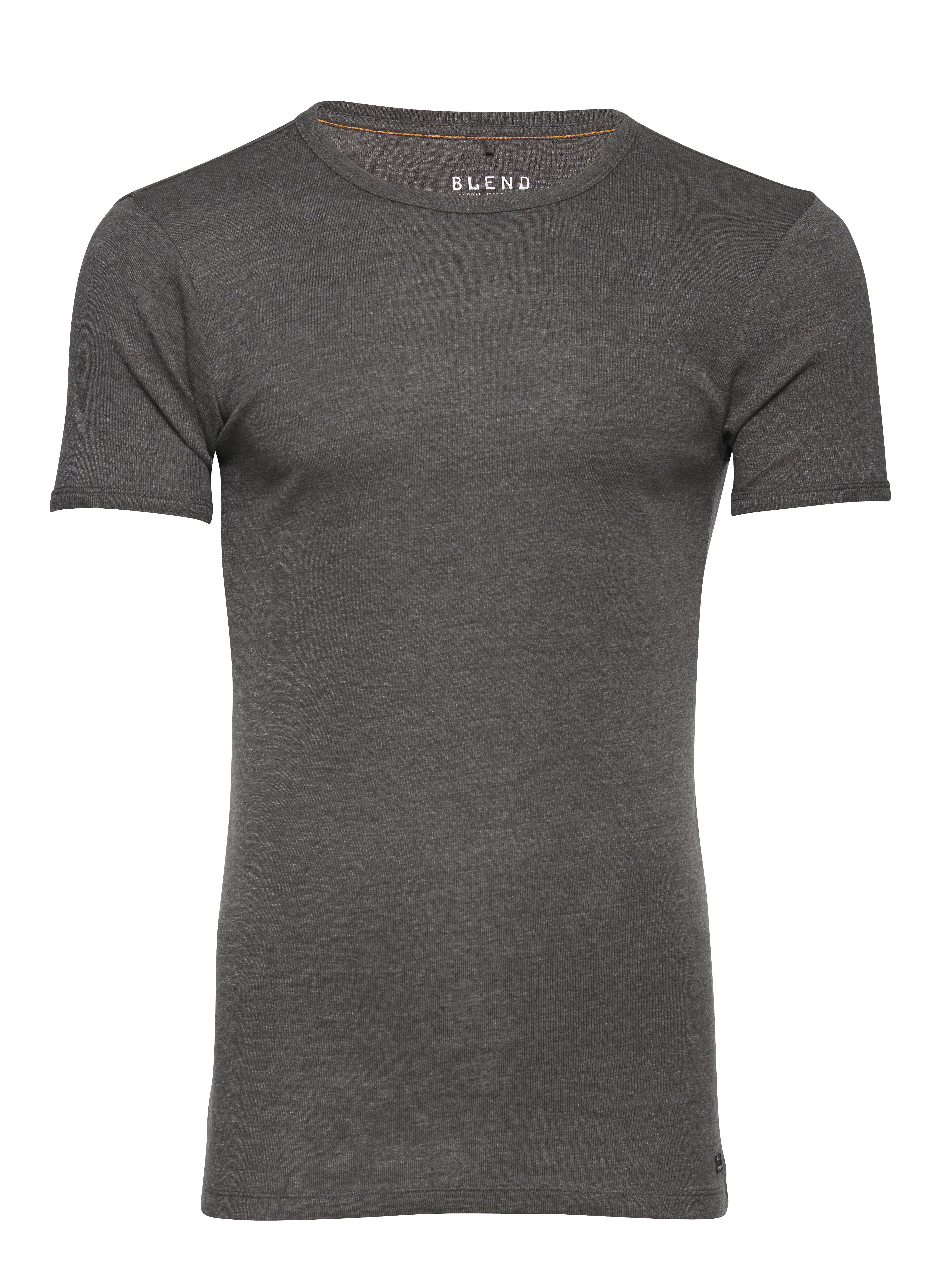 Charcoal T-shirt fra Blend He – Køb Charcoal T-shirt fra str. S-3XL her