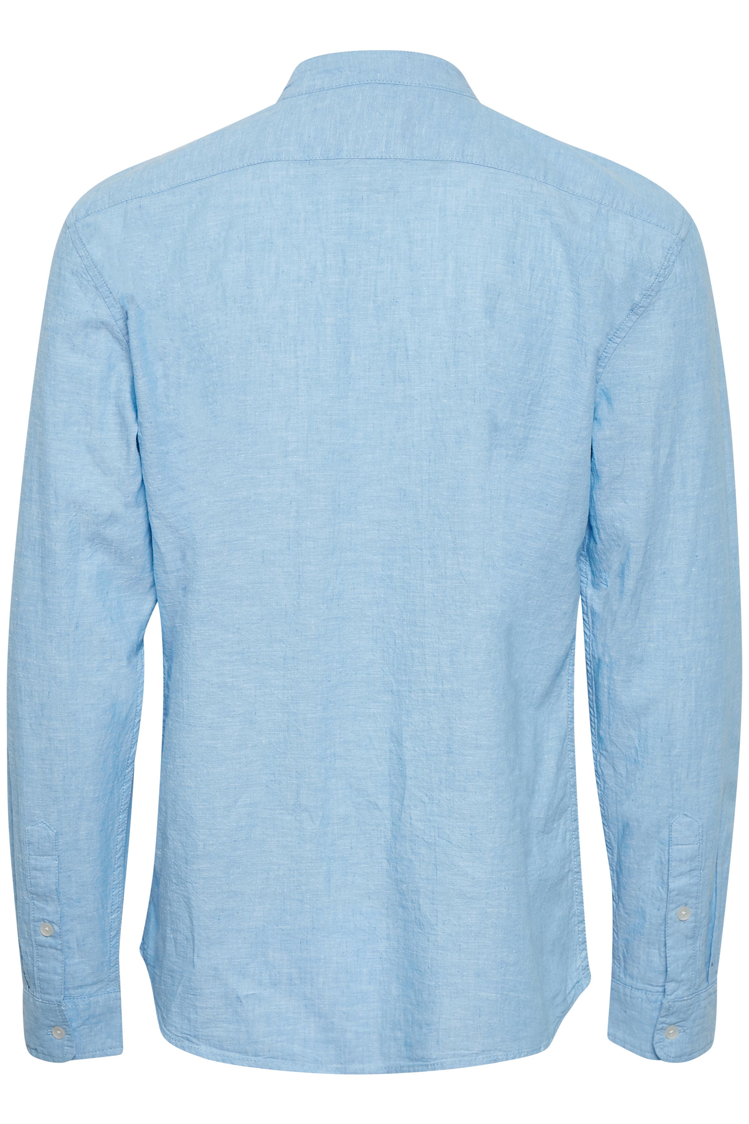 Coronet Blue Long sleeved shirt fra Blend He – Køb Coronet Blue Long sleeved shirt fra str. S-3XL her