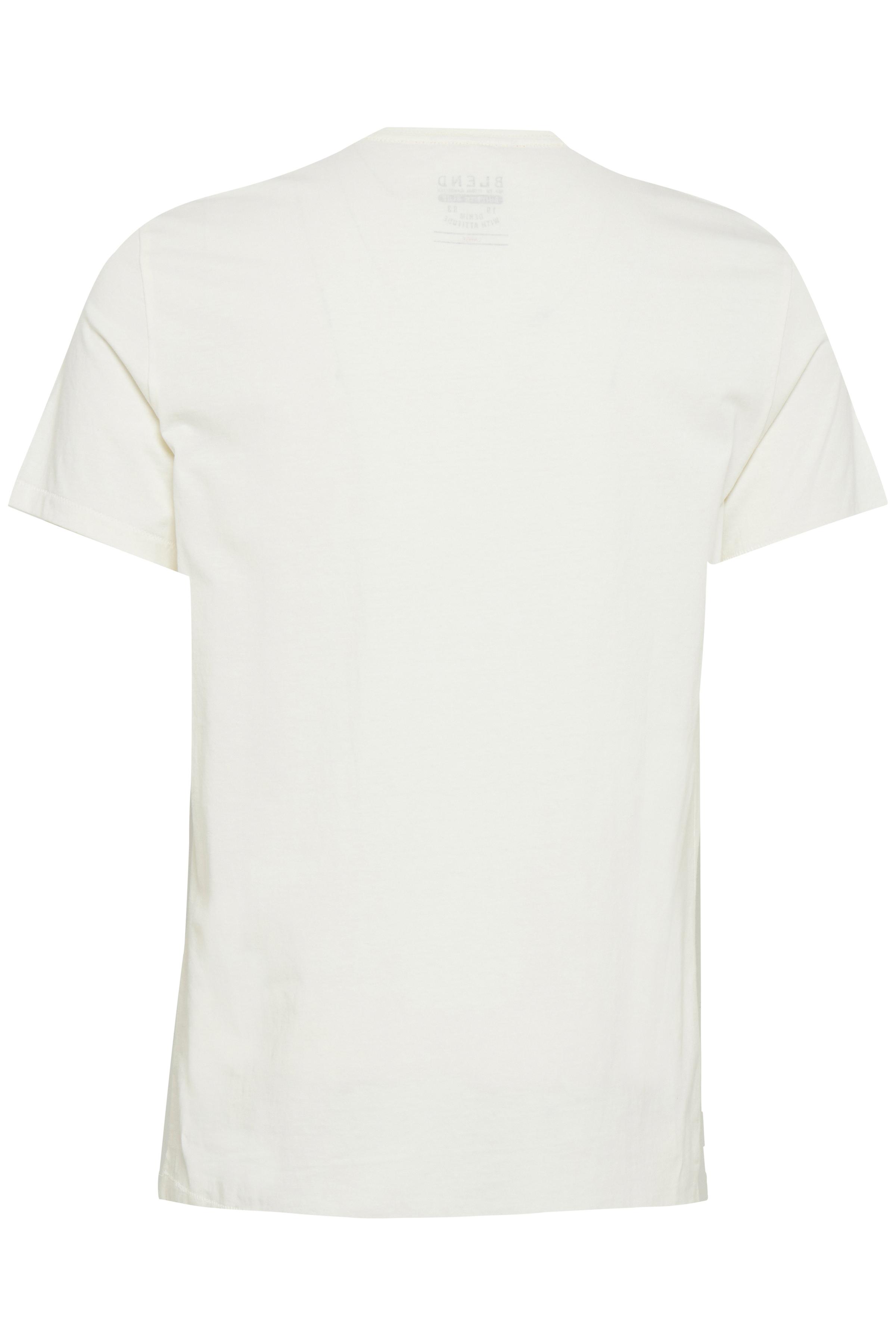 Cream White T-shirt – Køb Cream White T-shirt fra str. S-XL her
