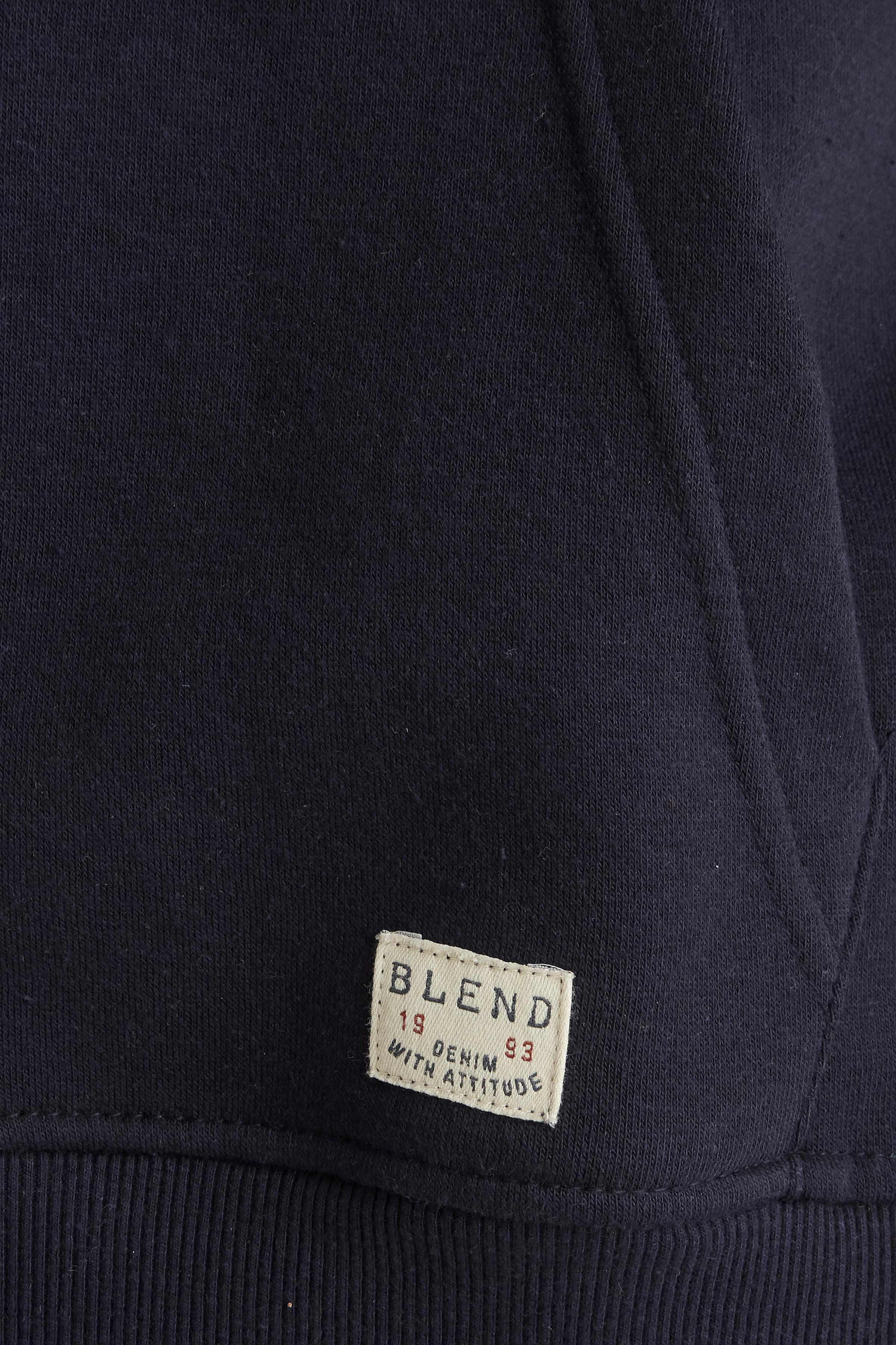 Dark Navy Blue Hættebluse – Køb Dark Navy Blue Hættebluse fra str. M-3XL her