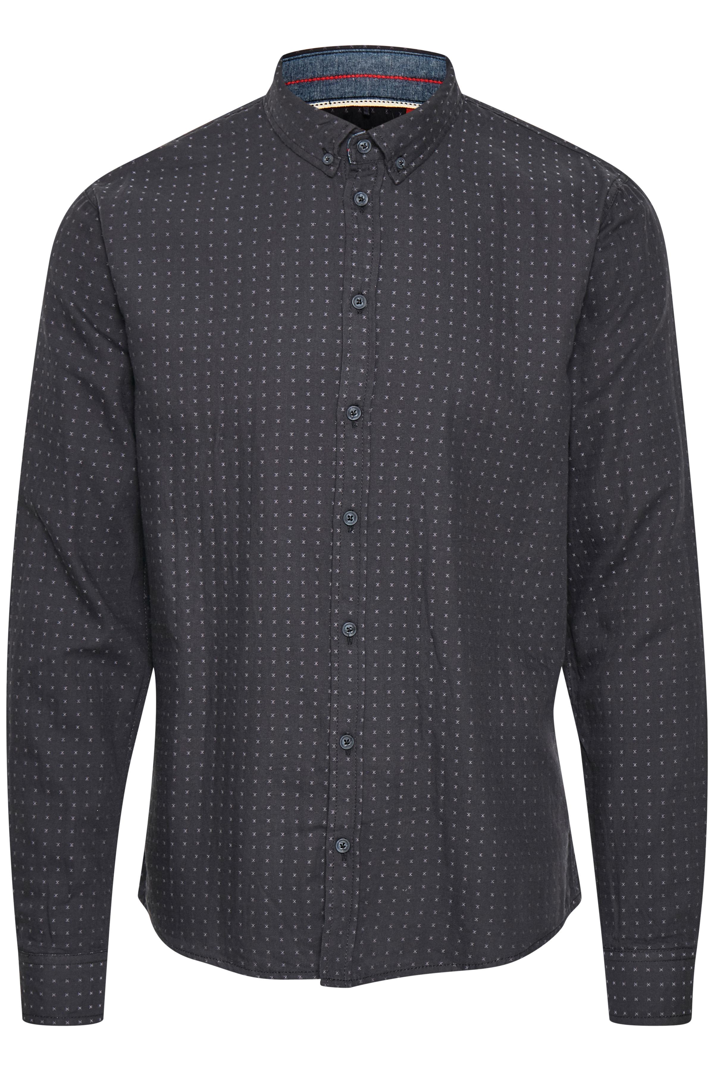 Dark Navy Blue Langærmet skjorte – Køb Dark Navy Blue Langærmet skjorte fra str. S-XXL her