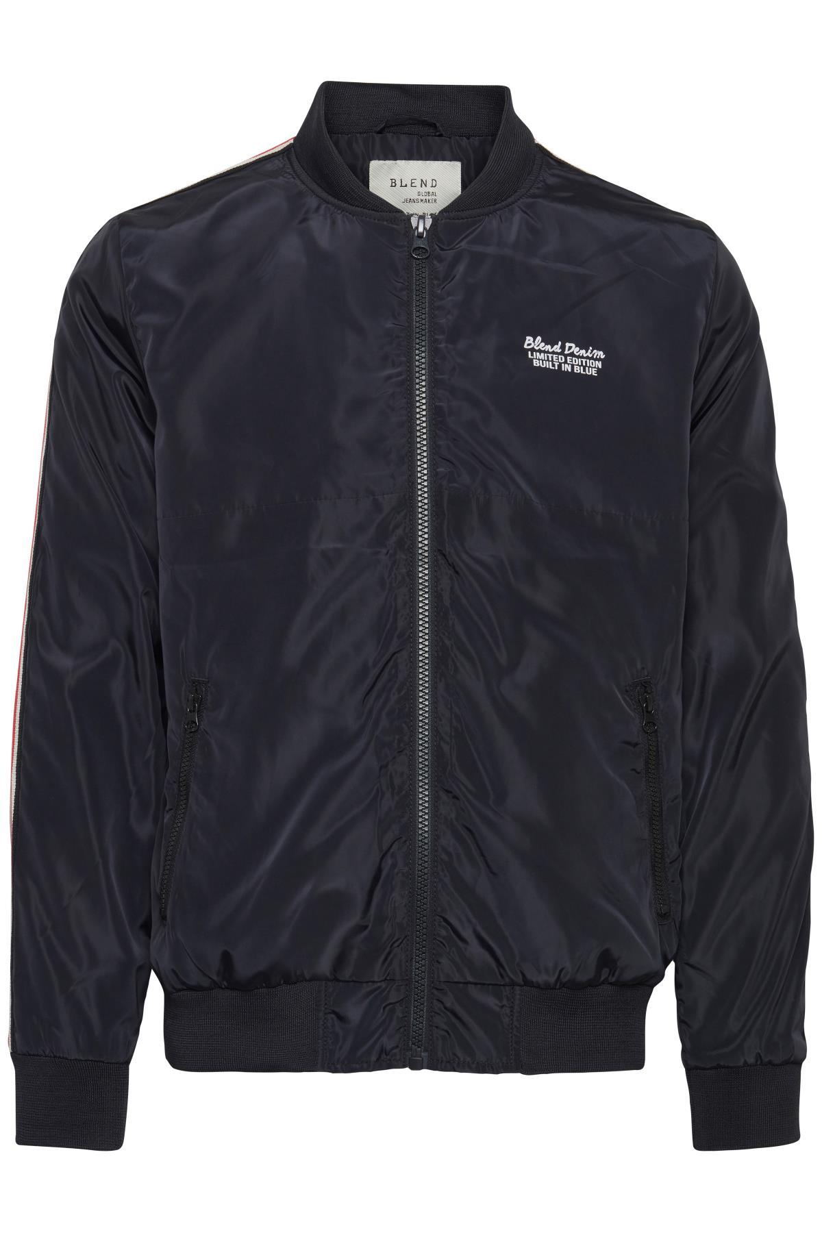 Dark Navy Blue Outerwear fra Blend He – Køb Dark Navy Blue Outerwear fra str. S-3XL her