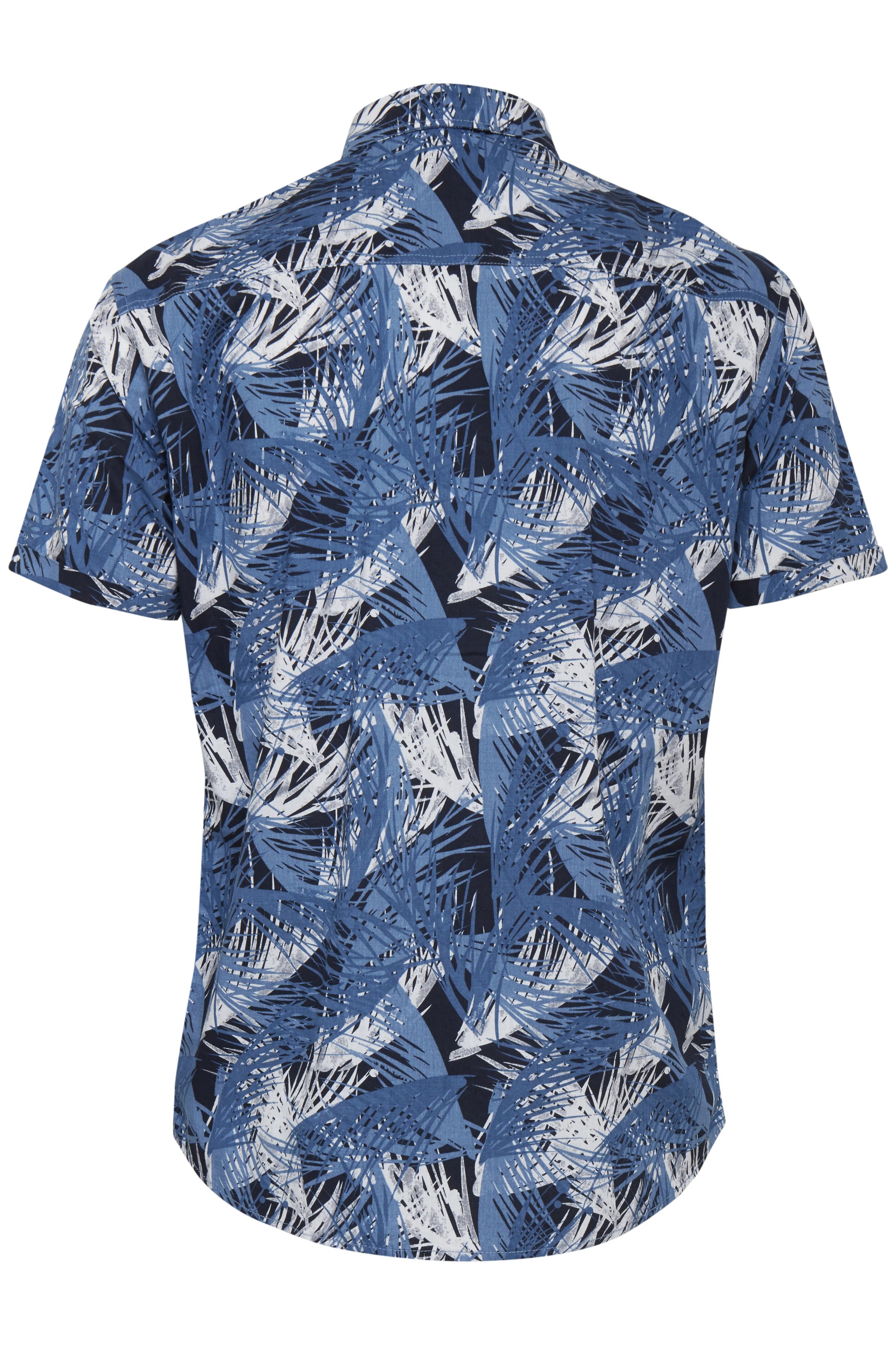 Dark Navy Blue Skjorte – Køb Dark Navy Blue Skjorte fra str. S-3XL her