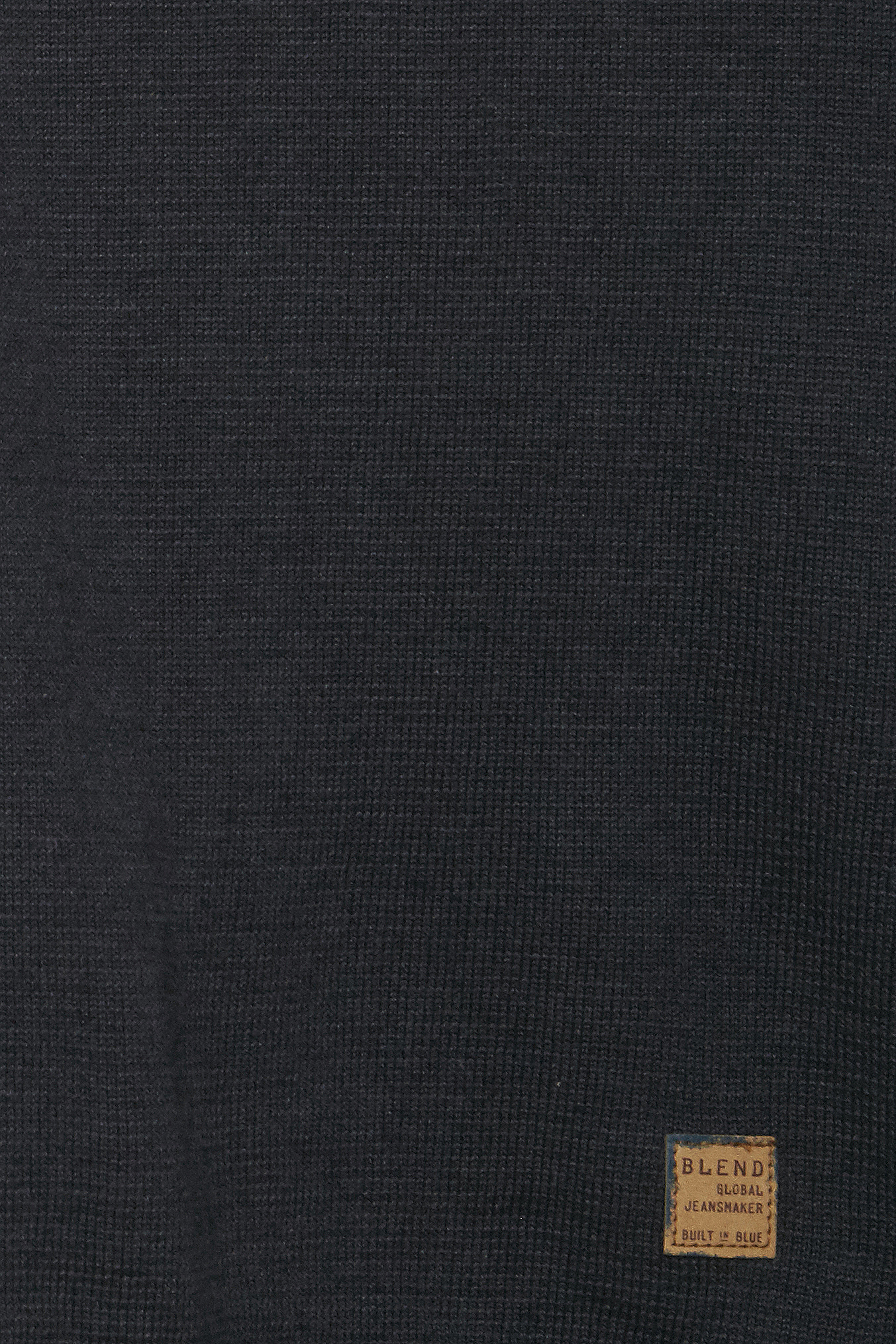 Dark Navy Blue Strikpullover – Køb Dark Navy Blue Strikpullover fra str. S-3XL her