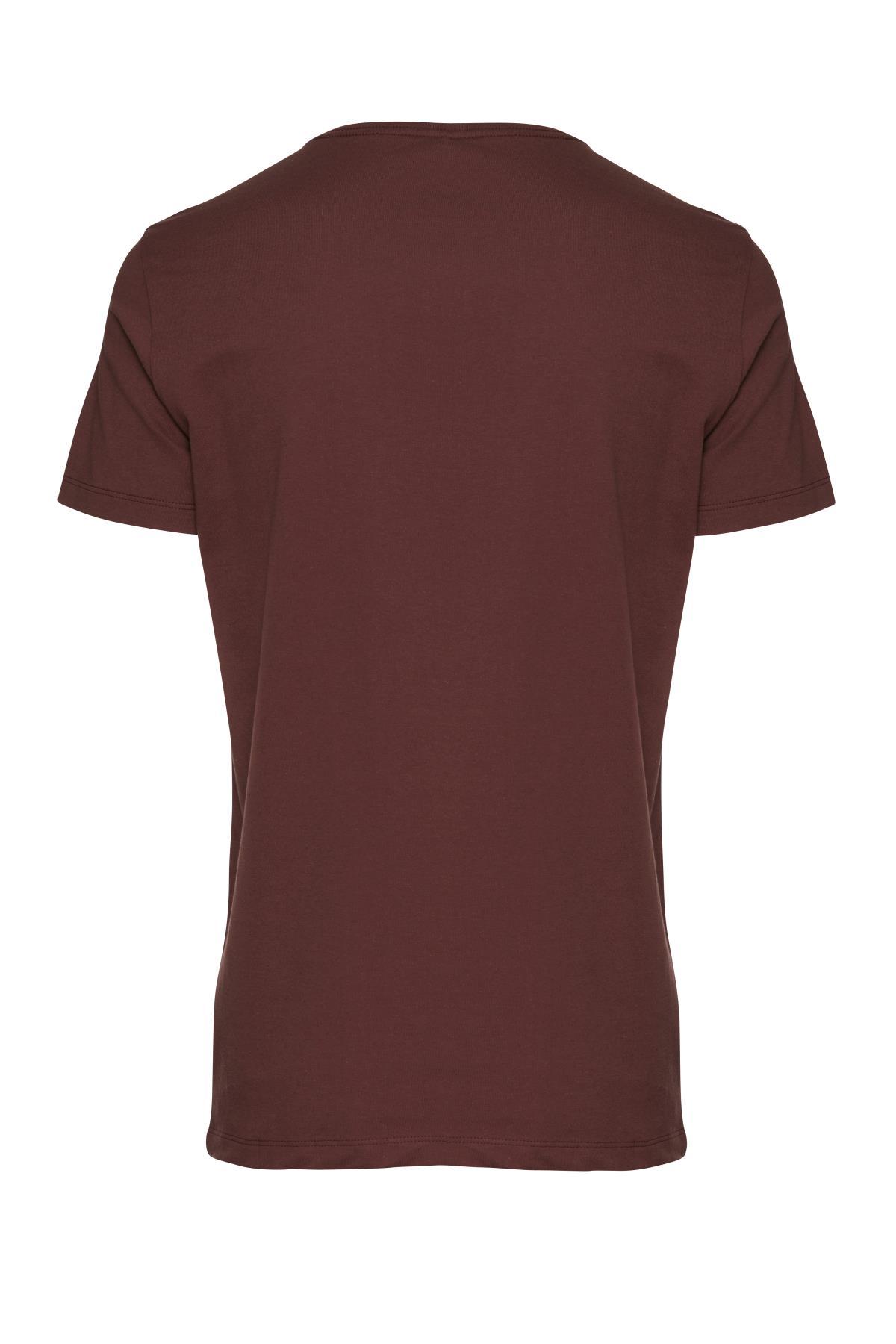 Deep Red T-shirt – Køb Deep Red T-shirt fra str. S-XL her