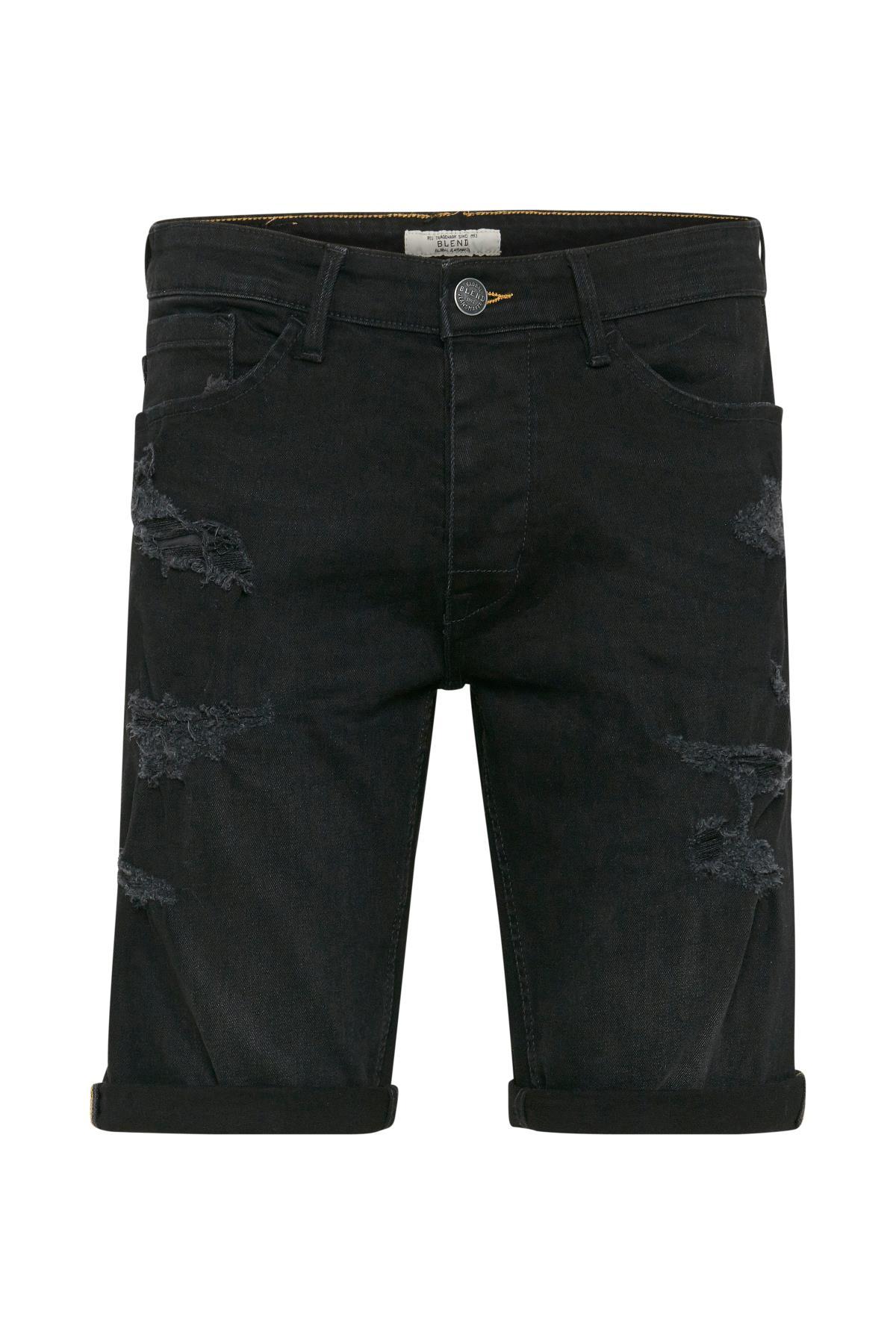 Denim Black Denimshorts – Køb Denim Black Denimshorts fra str. S-XL her