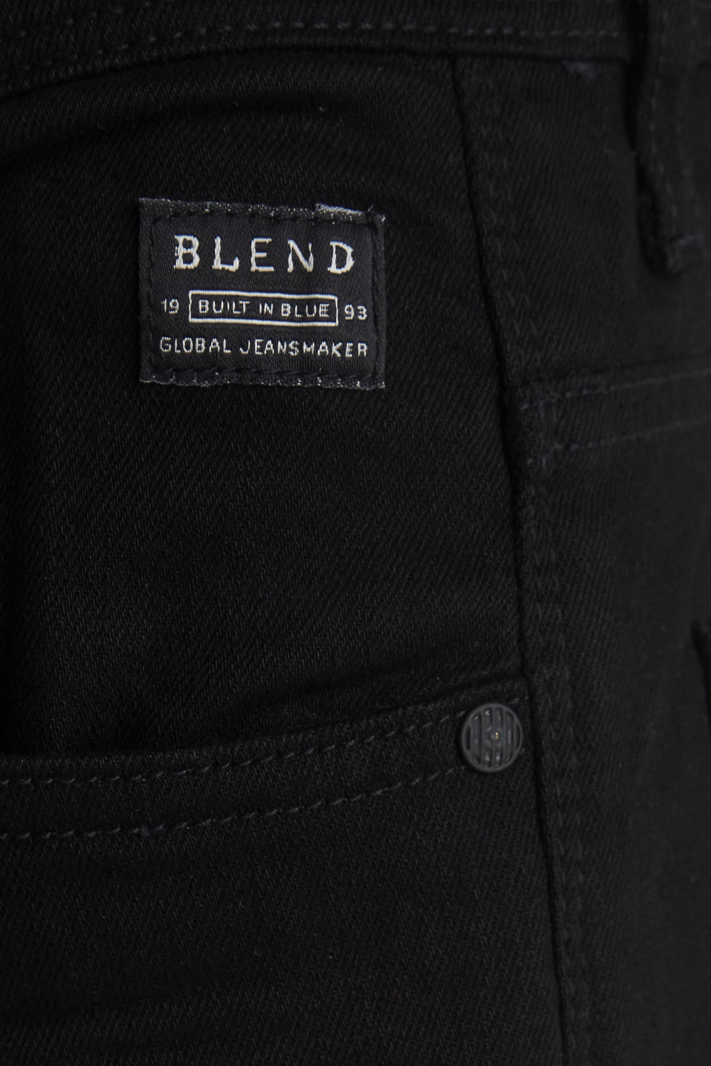 Denim Black Rock jeans fra Blend He – Køb Denim Black Rock jeans fra str. 33-36 her