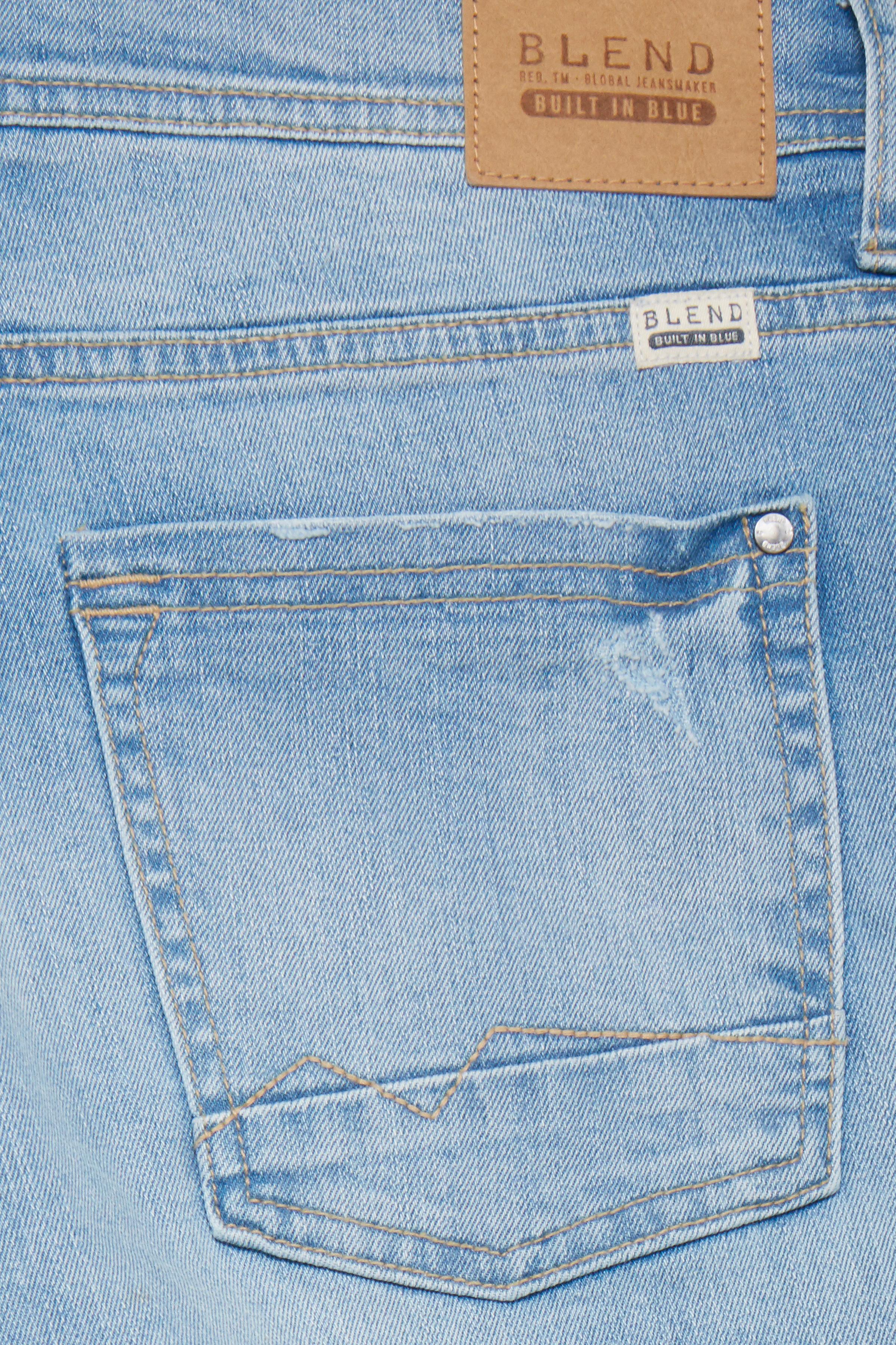Denim bleach blue Denimshorts – Køb Denim bleach blue Denimshorts fra str. S-3XL her