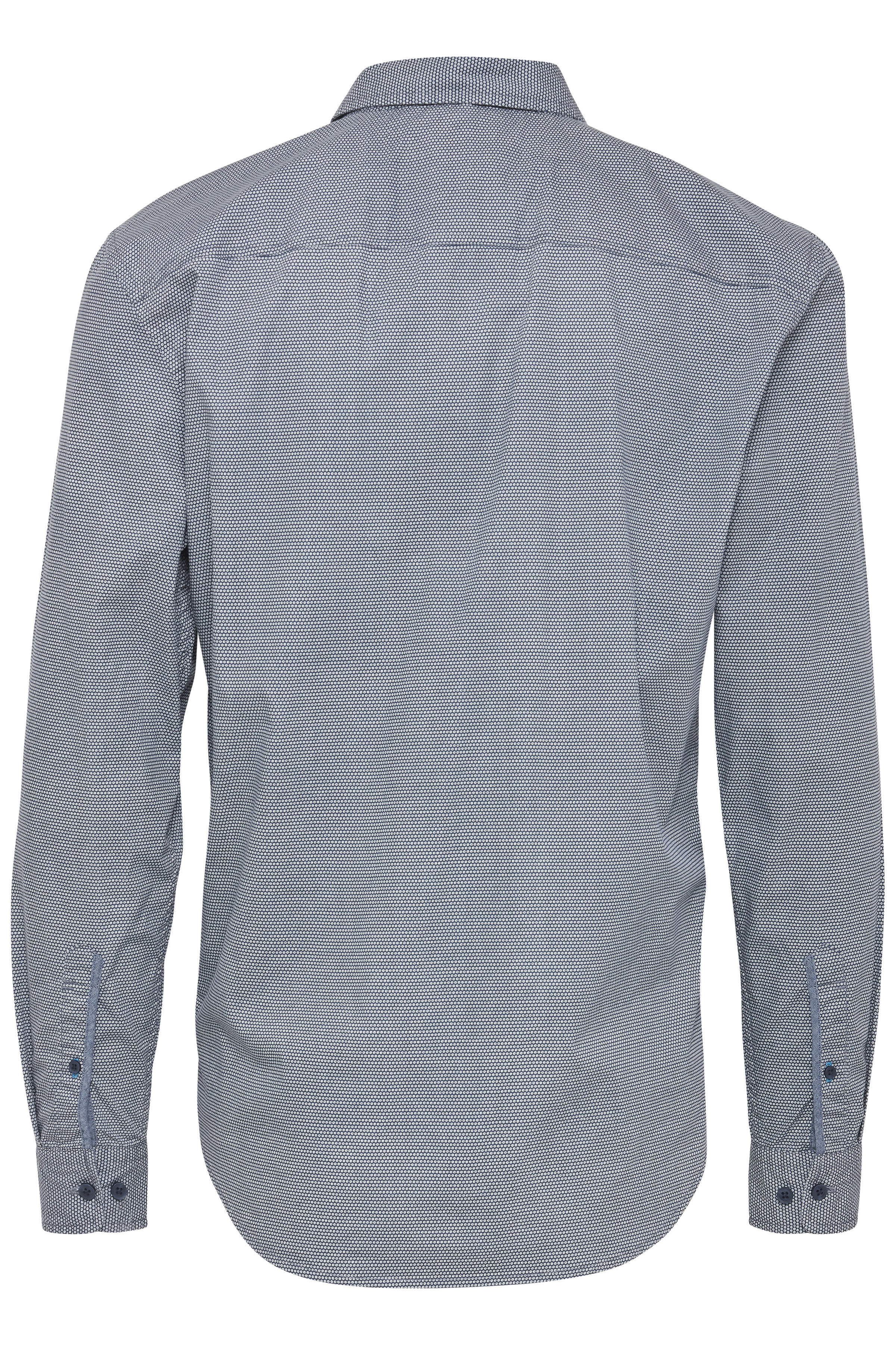 Denim Blue Long sleeved shirt fra Blend He – Køb Denim Blue Long sleeved shirt fra str. M-XXL her