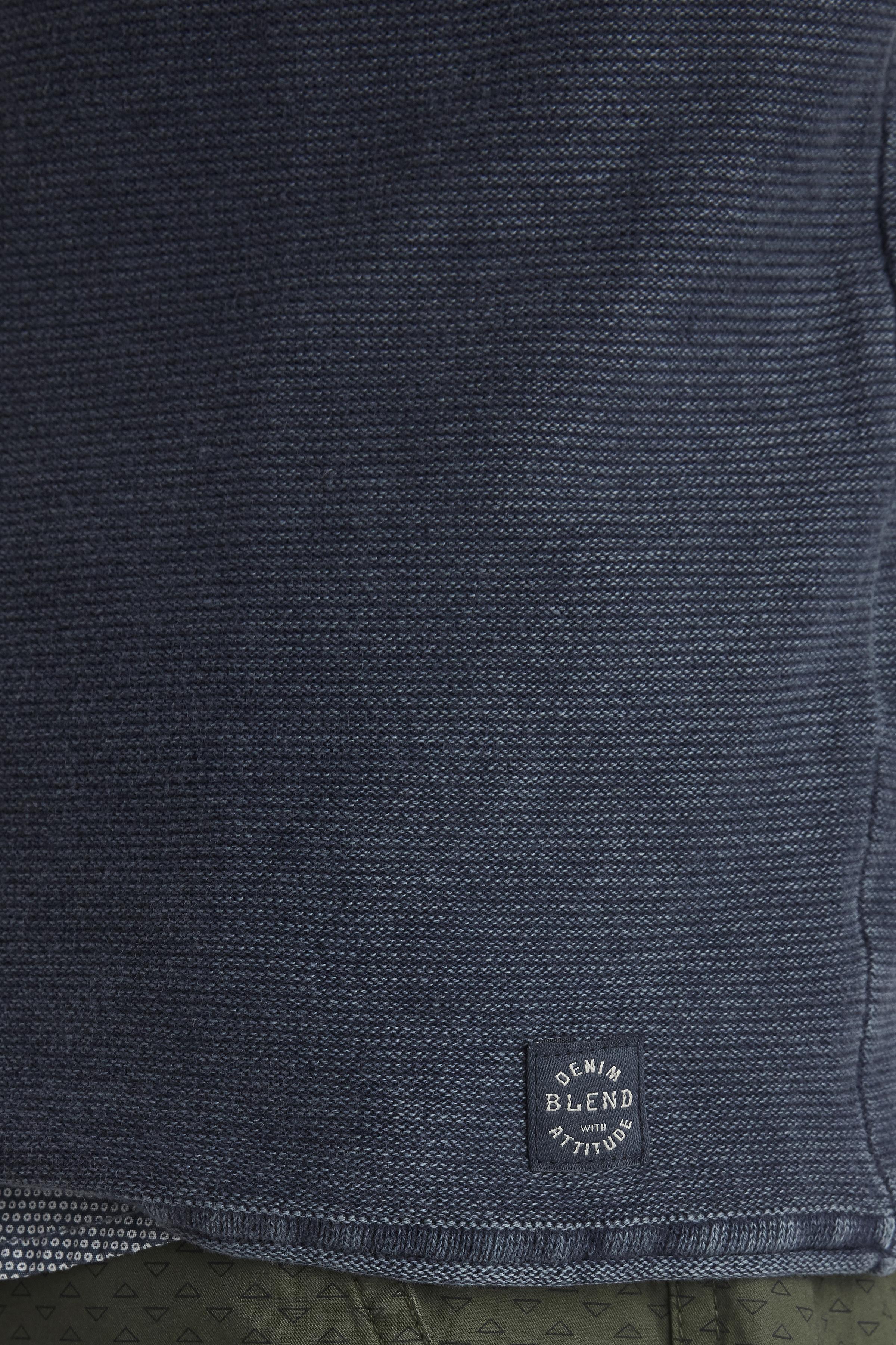 Denim Blue Strikpullover – Køb Denim Blue Strikpullover fra str. S-3XL her