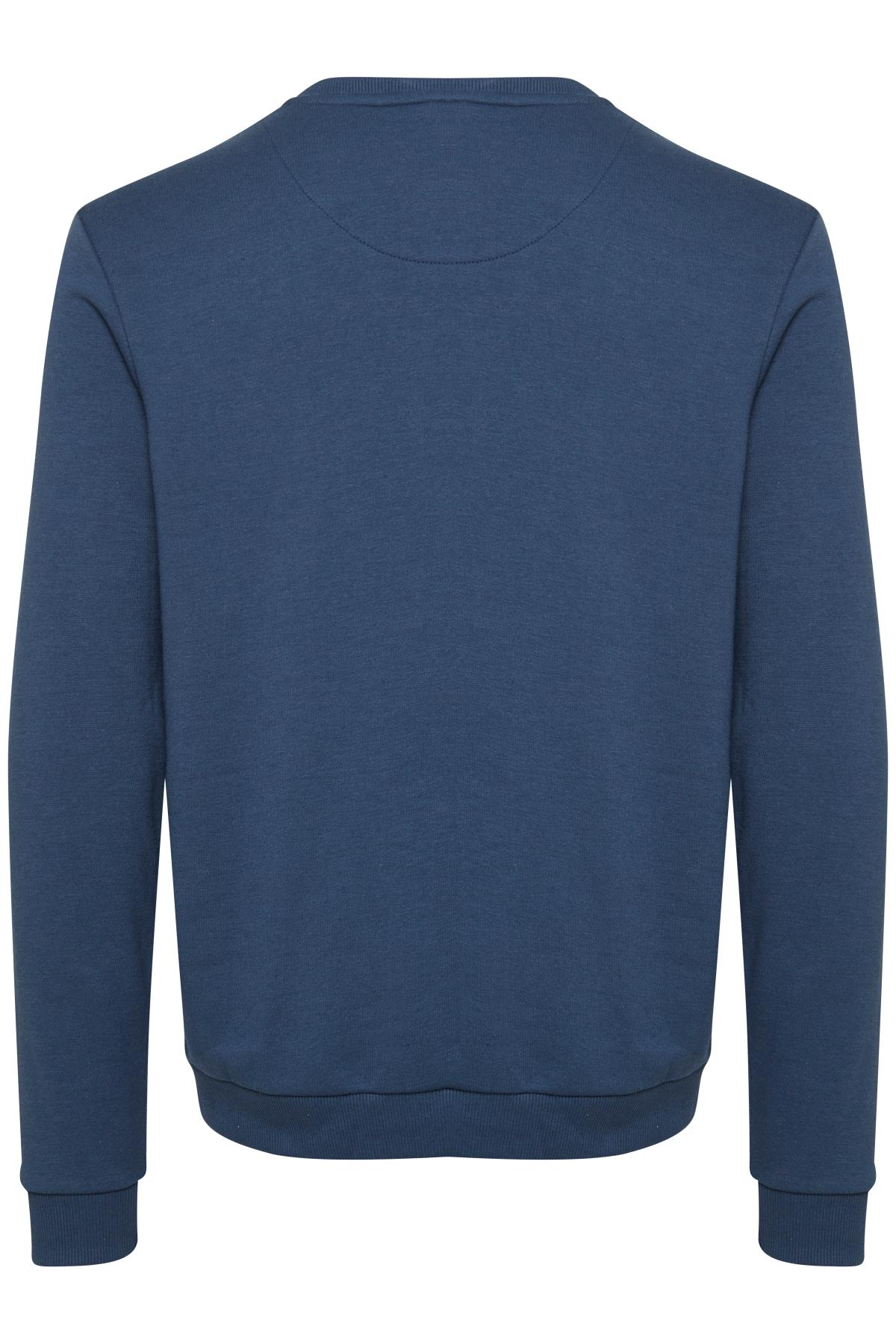 Denim Blue Sweatshirt – Køb Denim Blue Sweatshirt fra str. S-3XL her