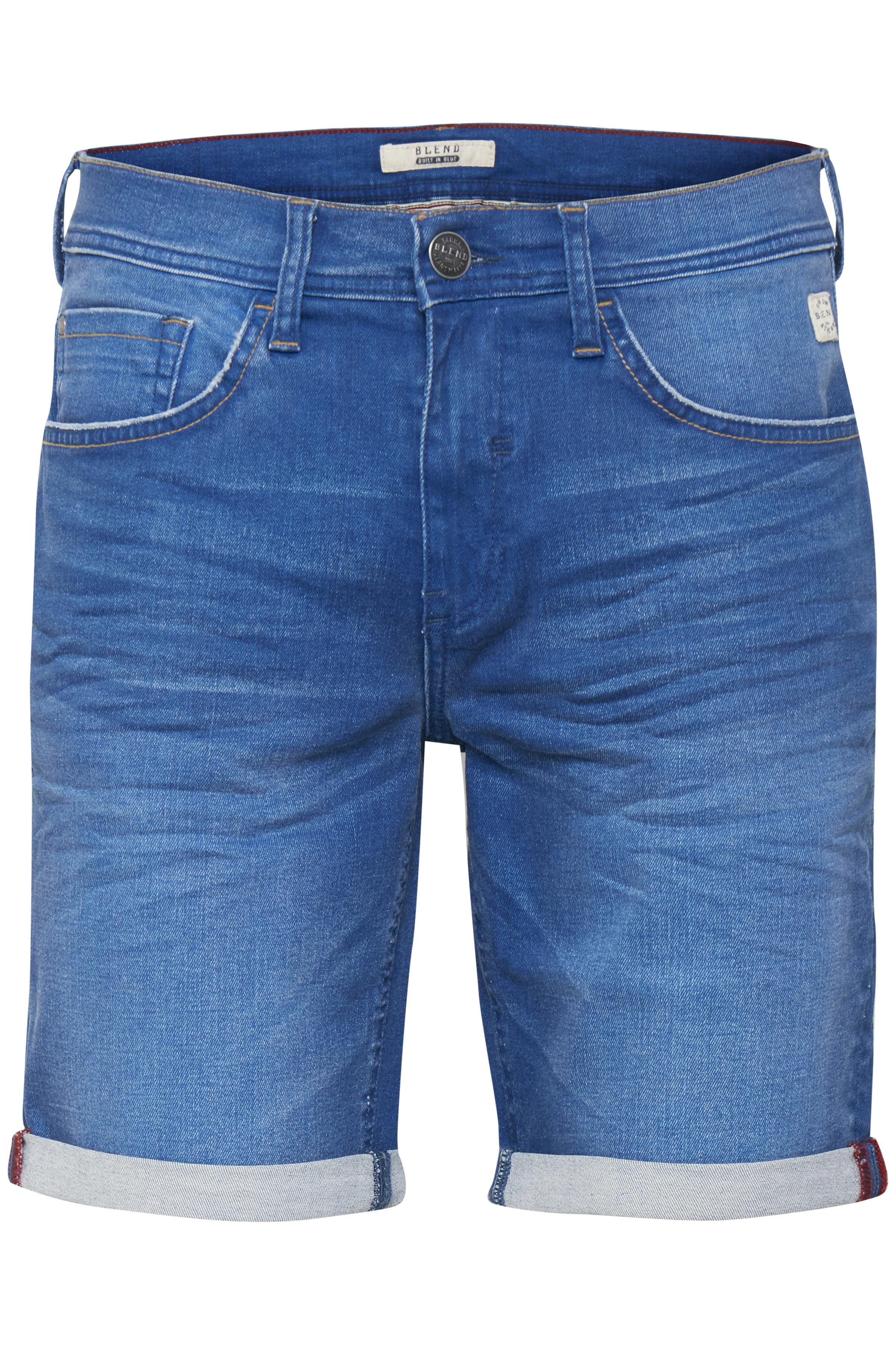 Denim Clear blue Denimshorts – Køb Denim Clear blue Denimshorts fra str. S-XL her