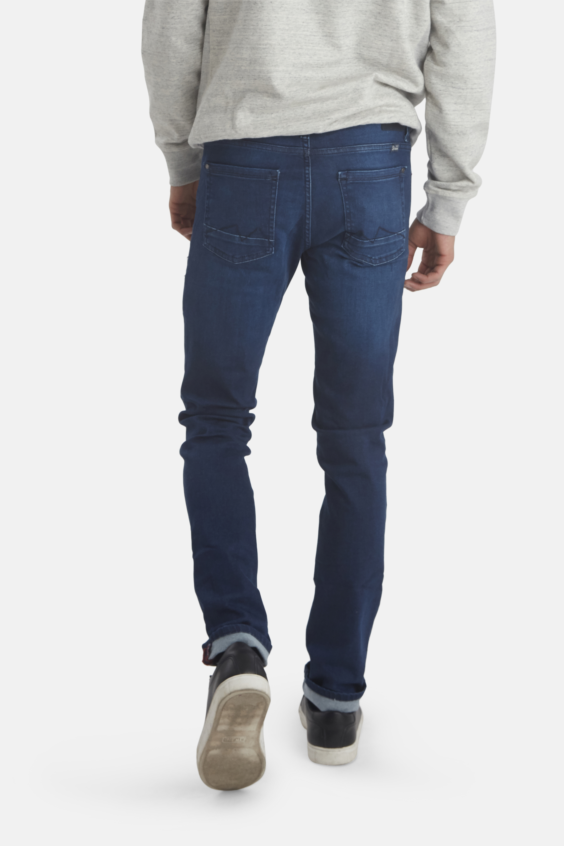 Denim Dark Blue Jet jeans fra Blend He – Køb Denim Dark Blue Jet jeans fra str. 33-36 her