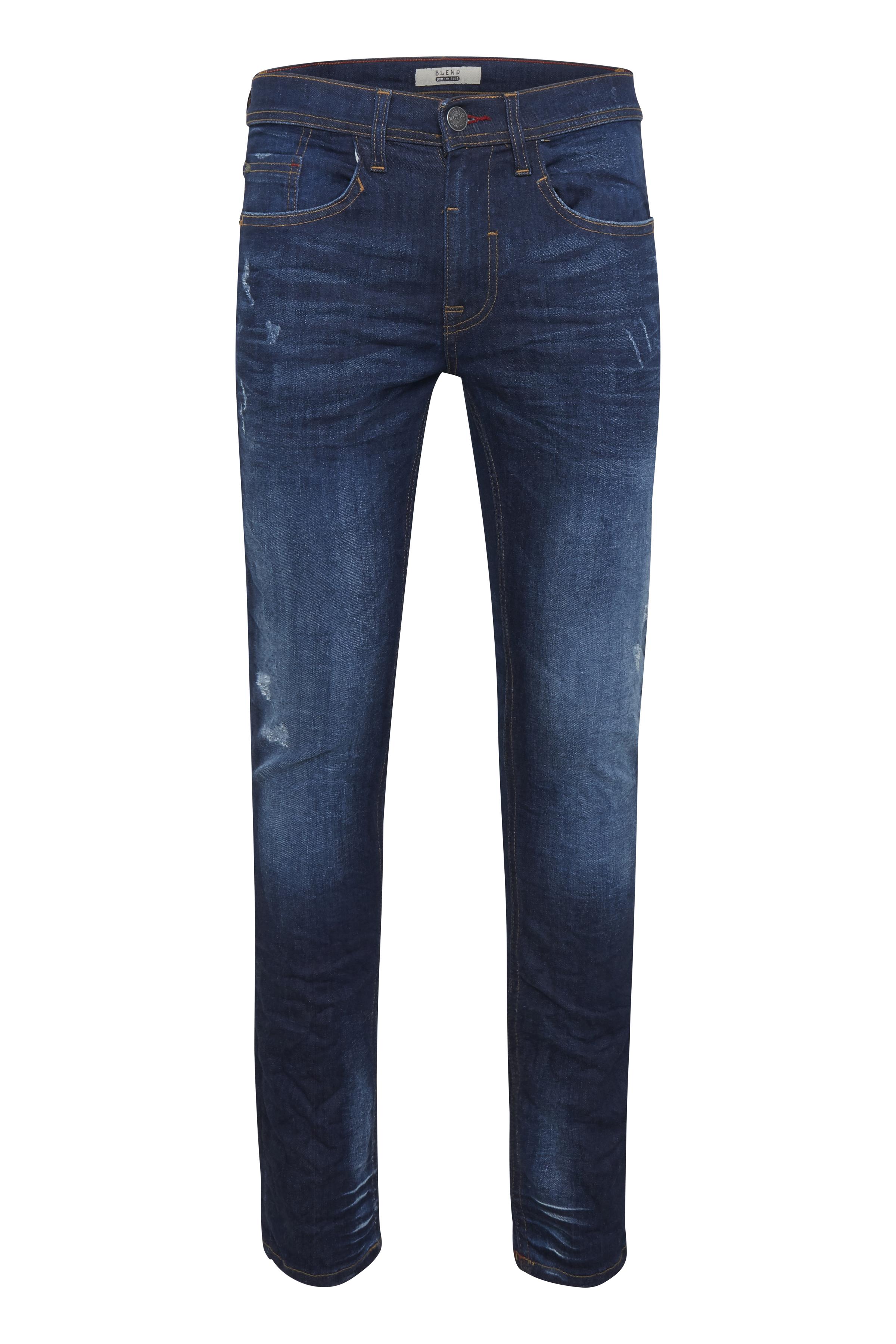 Denim dark blue Jet jeans fra Blend He – Køb Denim dark blue Jet jeans fra str. 25-40 her