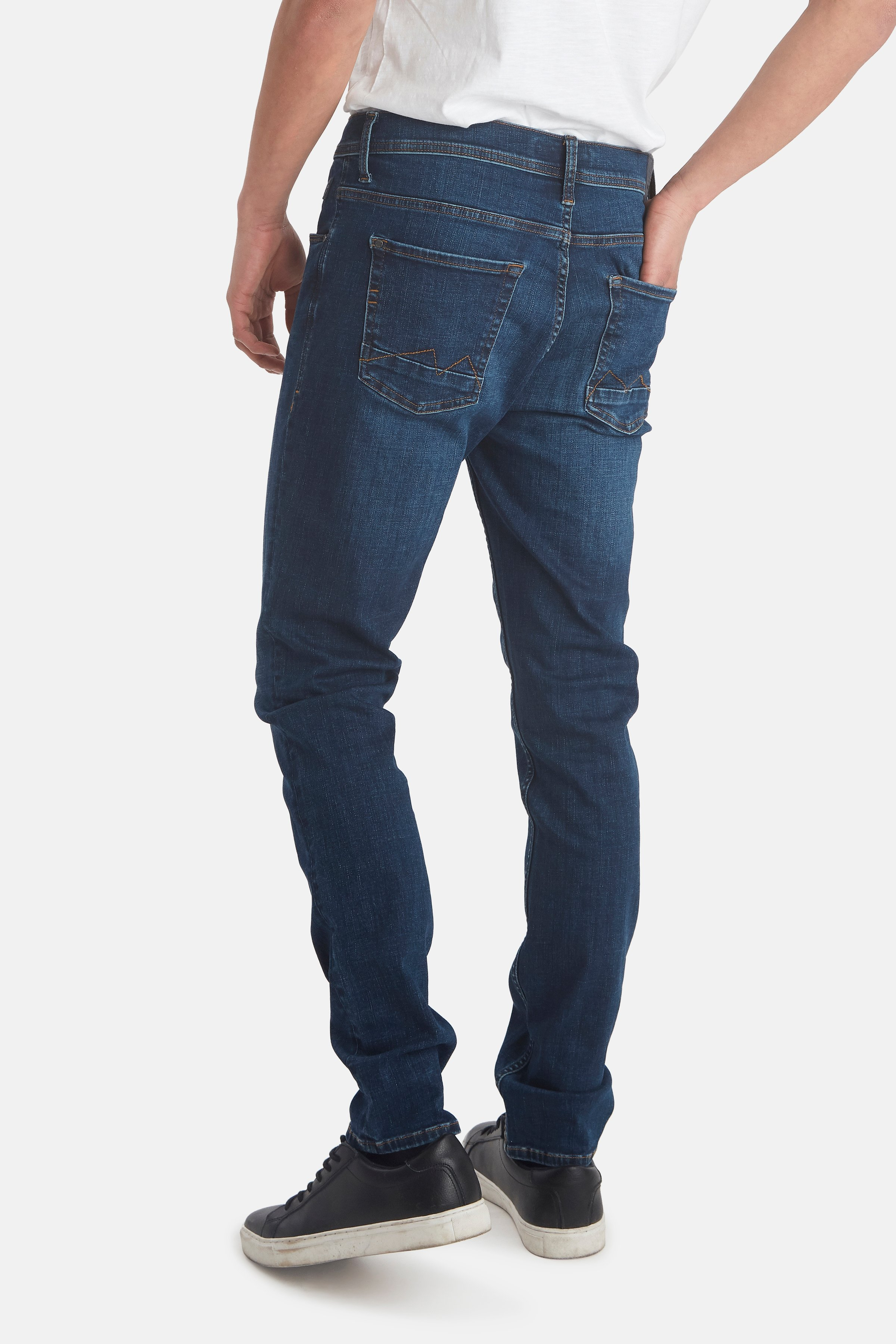Denim dark blue Multiflex Jet jeans – Køb Denim dark blue Multiflex Jet jeans fra str. 29-38 her