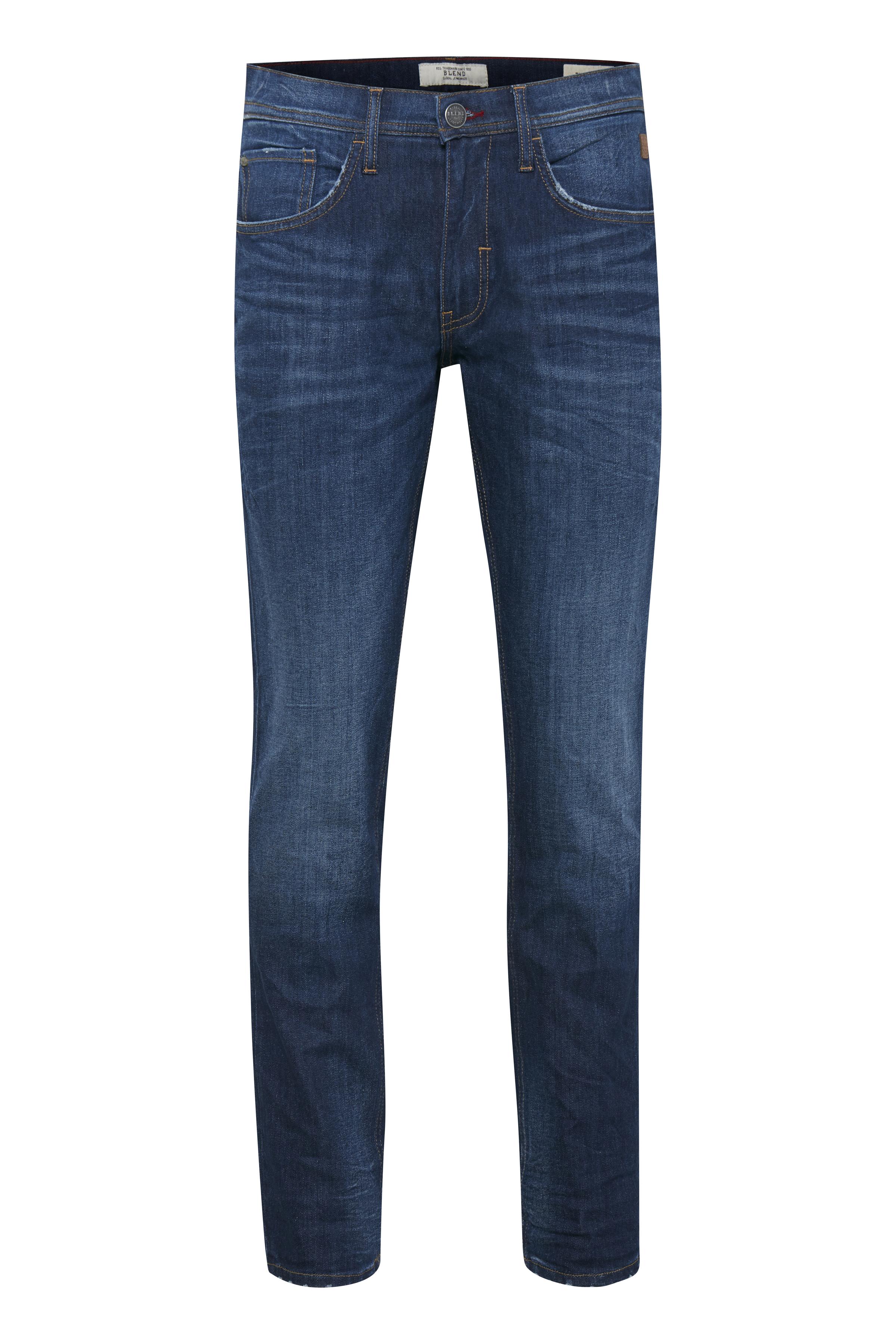 Denim dark blue Twister jeans fra Blend He – Køb Denim dark blue Twister jeans fra str. 28-42 her