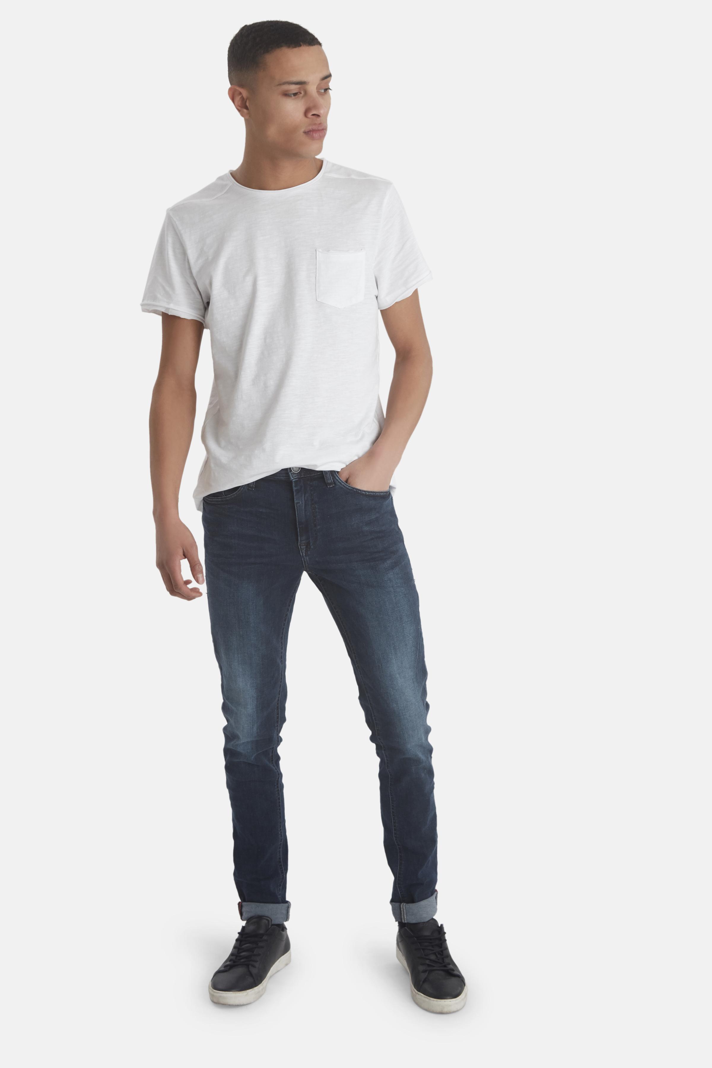 Denim darkblue Echo jeans fra Blend He – Køb Denim darkblue Echo jeans fra str. 29-38 her