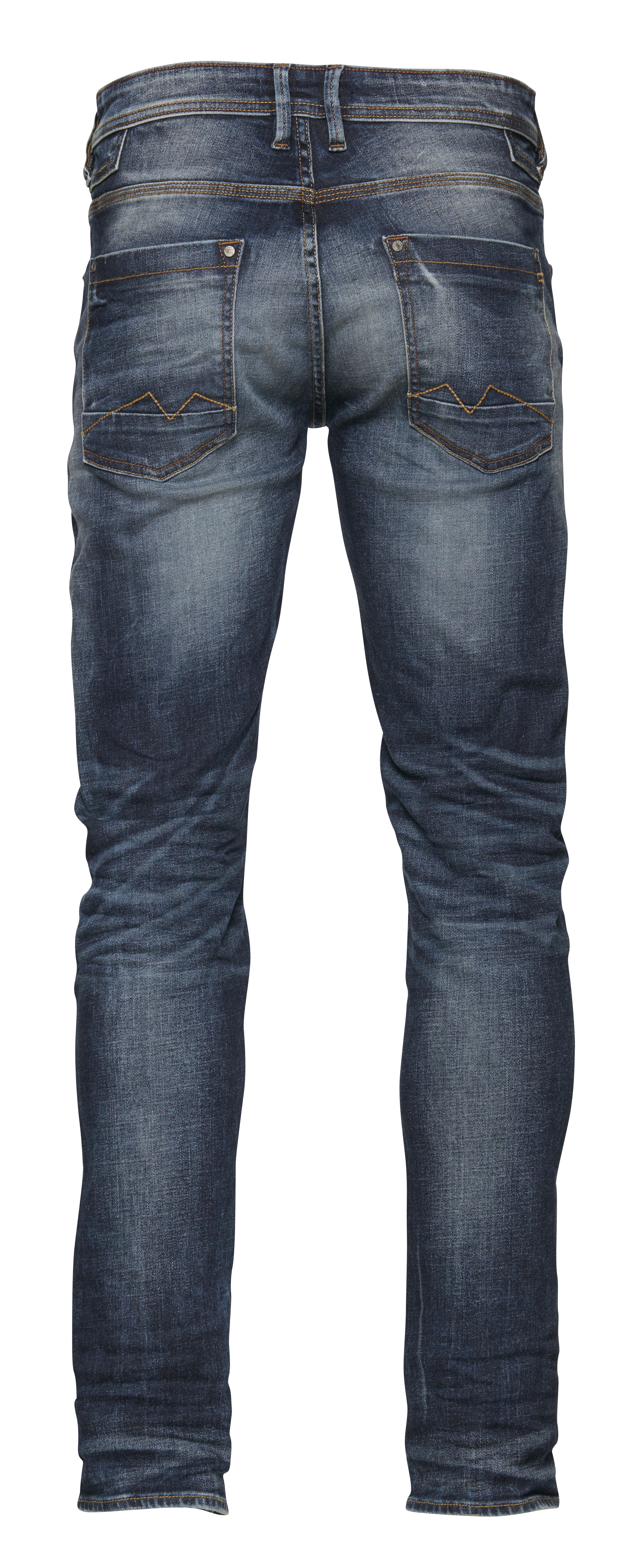 Denim darkblue Jet jeans fra Blend He – Køb Denim darkblue Jet jeans fra str. 33-36 her