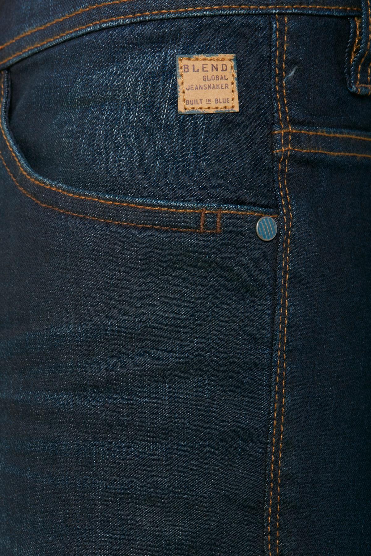 Denim darkblue Jet jeans fra Blend He – Køb Denim darkblue Jet jeans fra str. 28-38 her