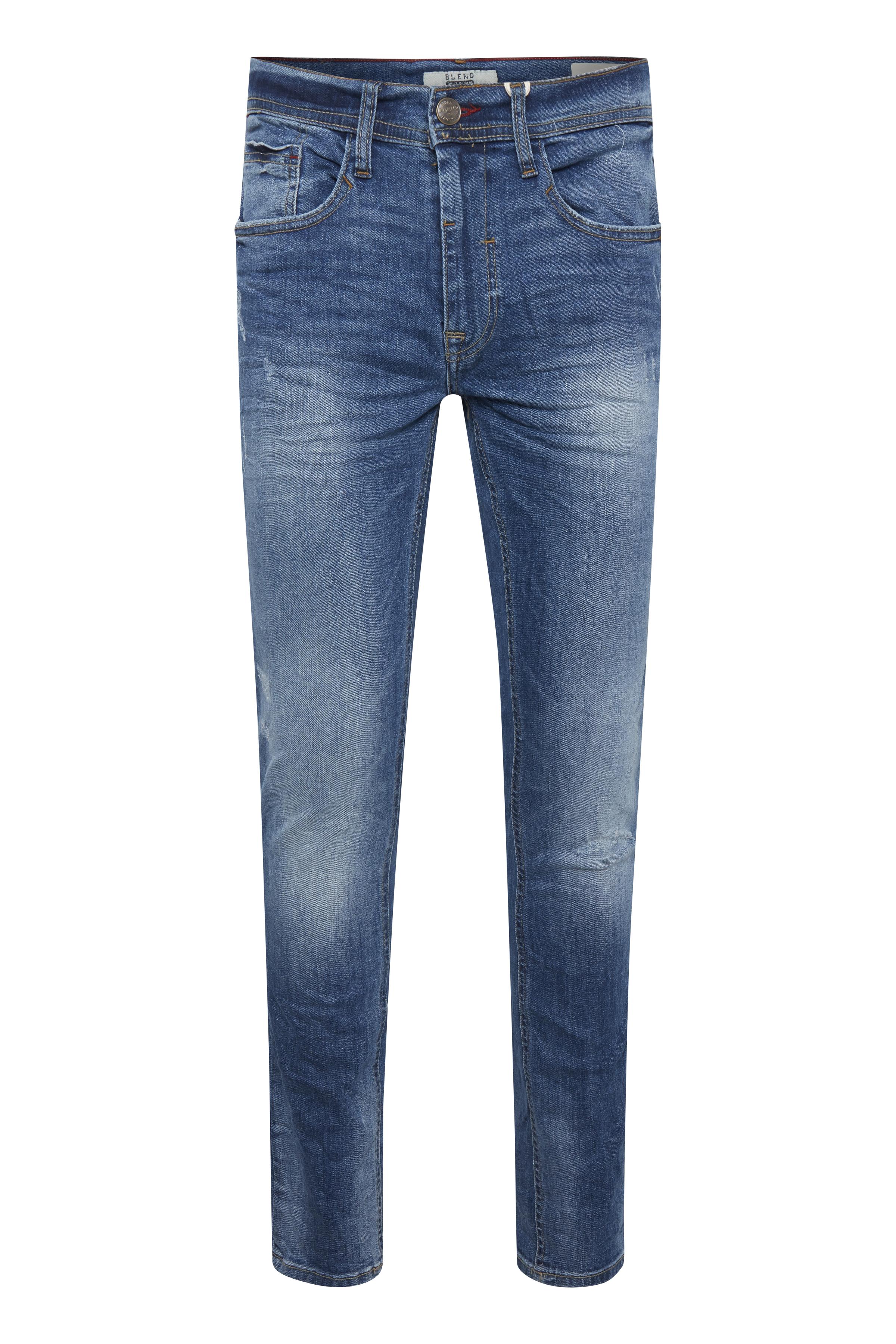 Denim light blue Jet jeans fra Blend He – Køb Denim light blue Jet jeans fra str. 25-40 her