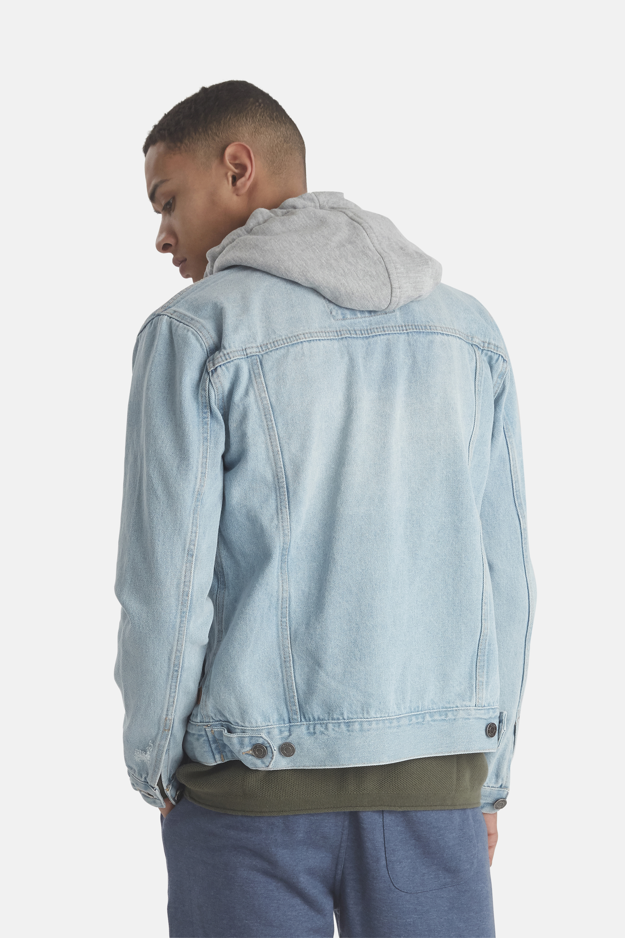 Denim light blue Outerwear fra Blend He – Køb Denim light blue Outerwear fra str. S-XL her