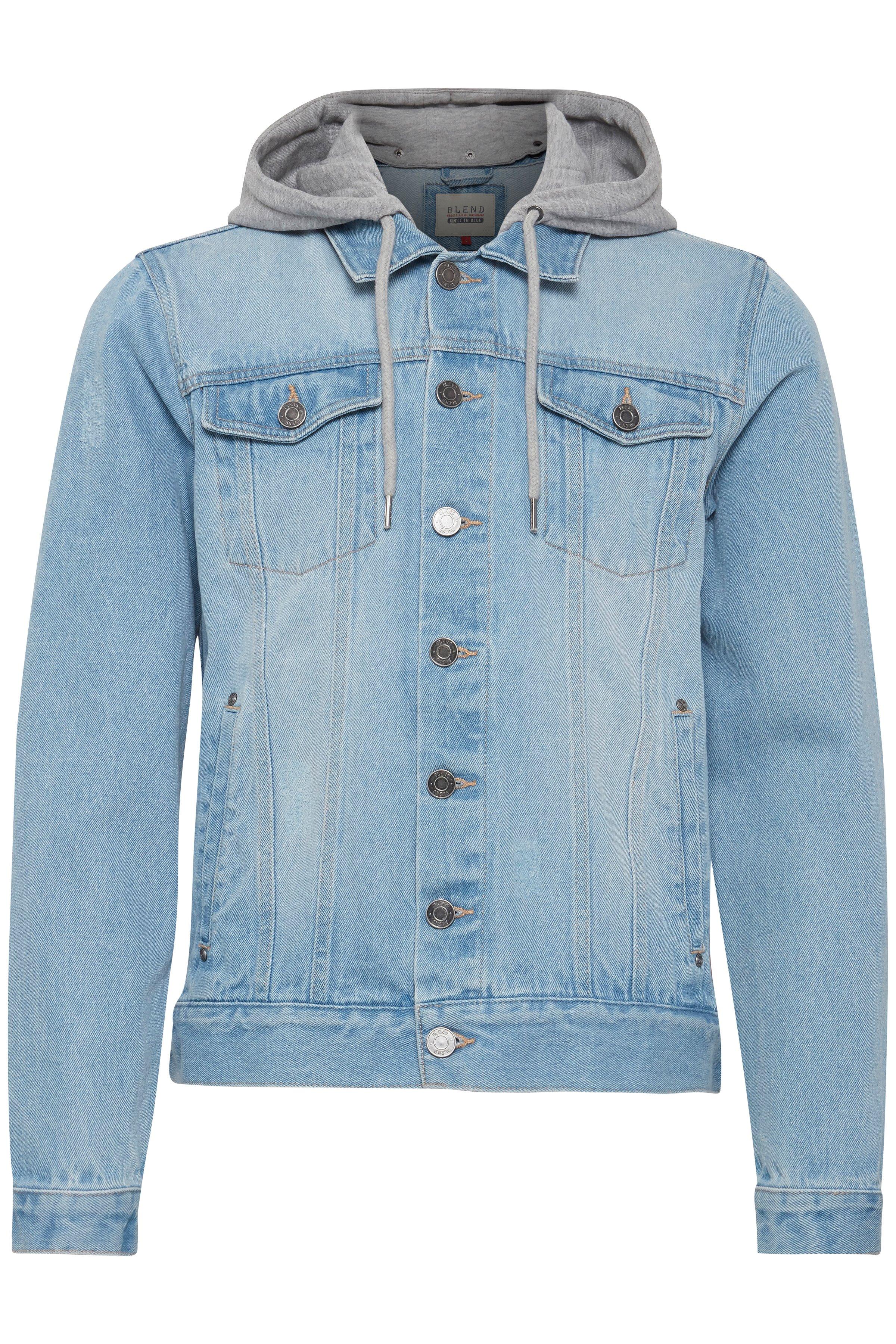Denim light blue Outerwear fra Blend He – Køb Denim light blue Outerwear fra str. S-XXL her