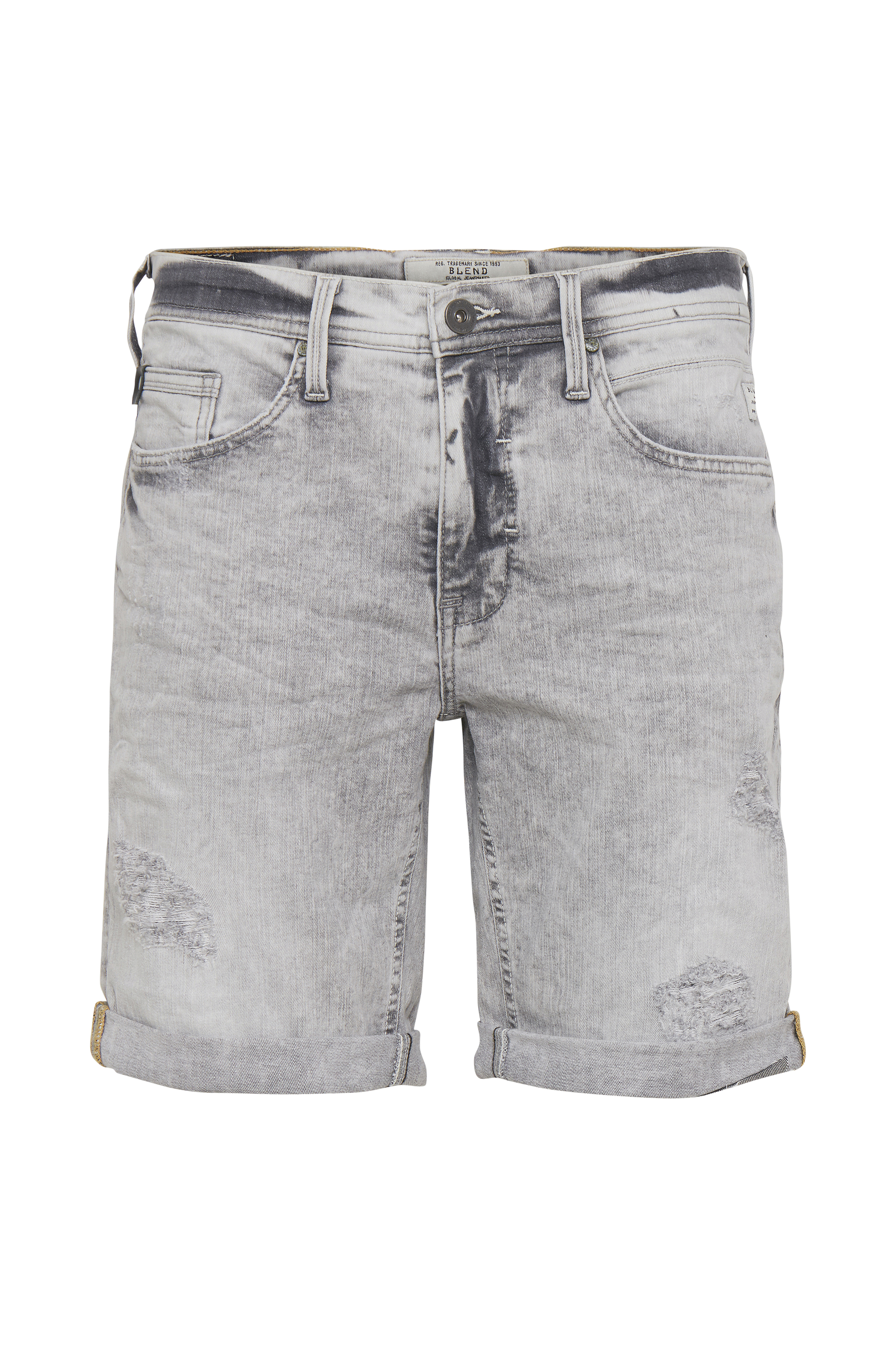 Denim light grey Denimshorts – Køb Denim light grey Denimshorts fra str. M-XXL her