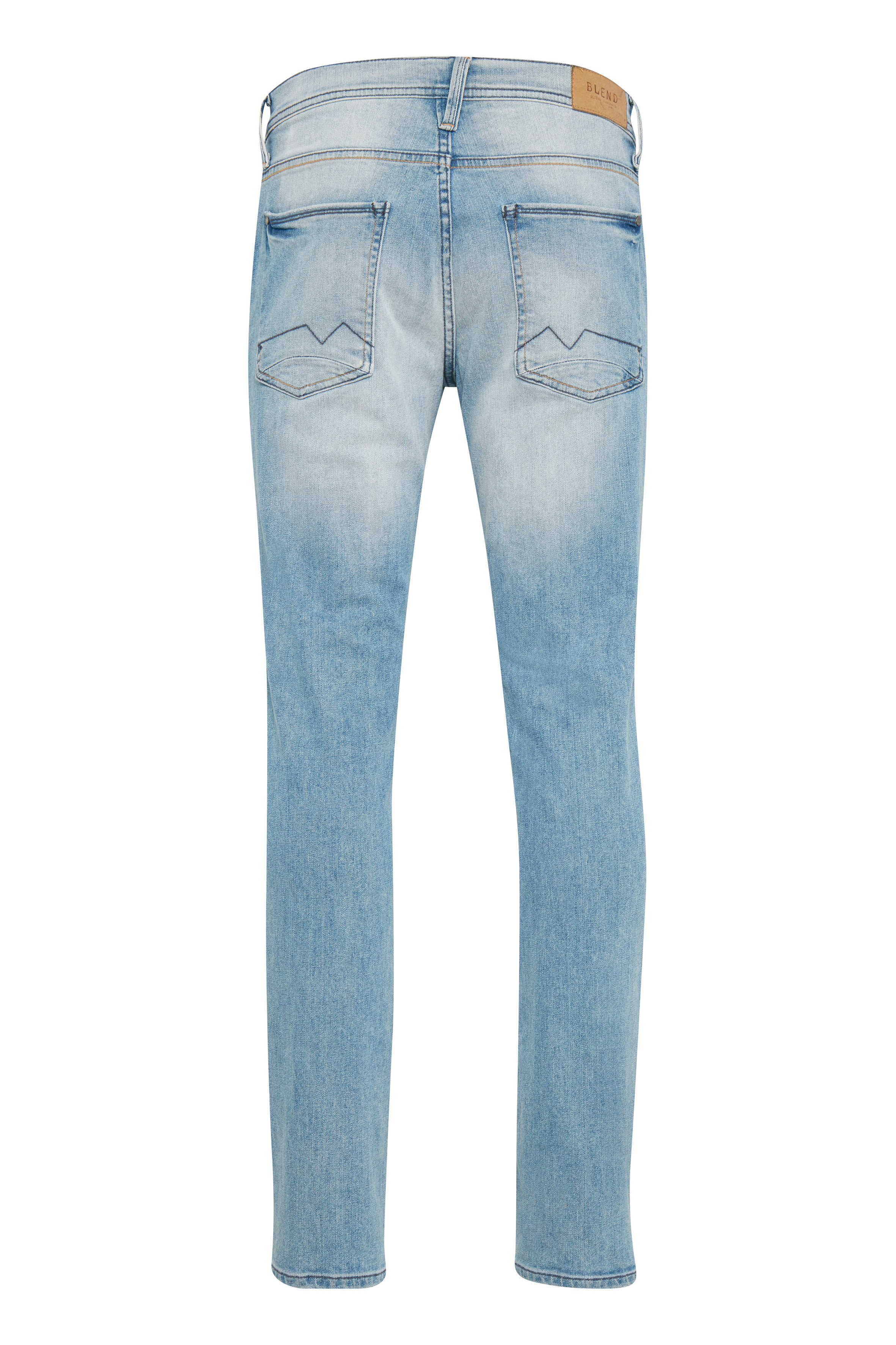 Denim lightblue Twister jeans fra Blend He – Køb Denim lightblue Twister jeans fra str. 27-40 her