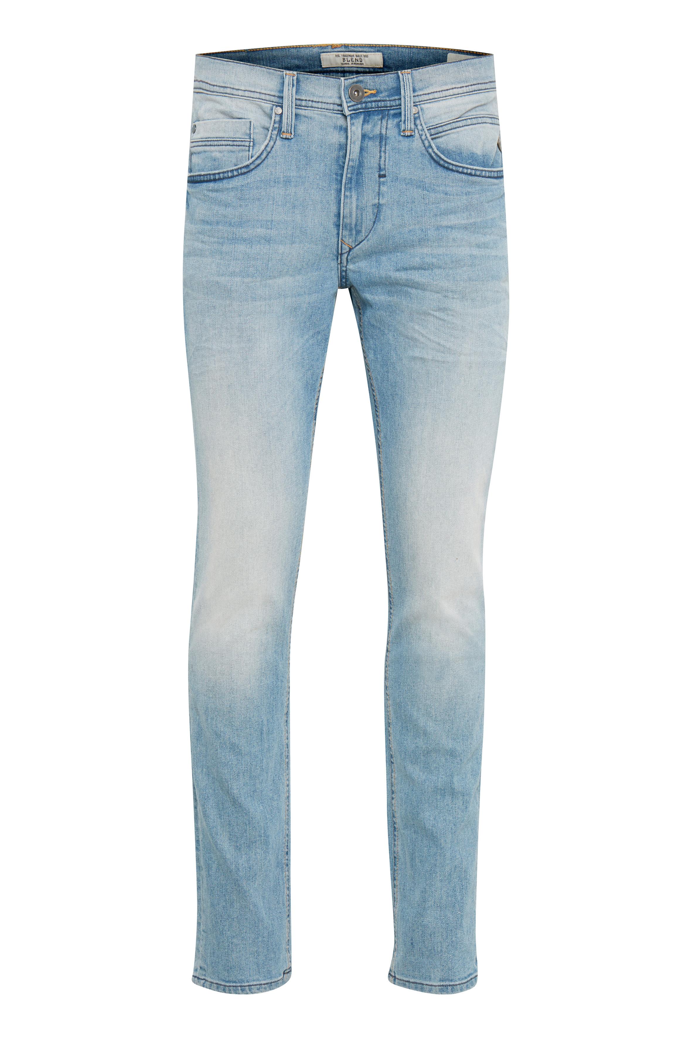 Denim lightblue Twister jeans fra Blend He – Køb Denim lightblue Twister jeans fra str. 27-40 her