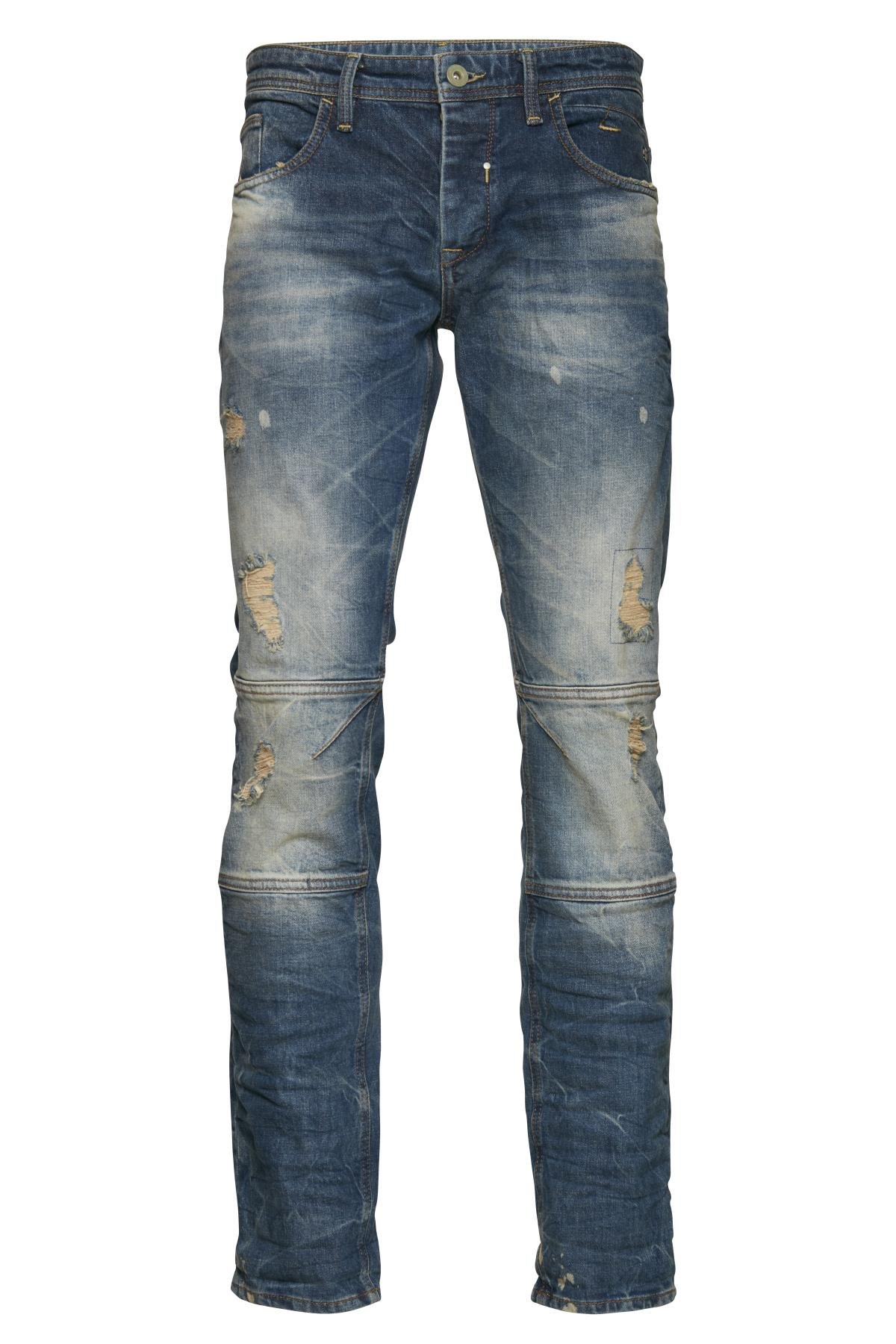 Denim Middle blue Blizzard jeans fra Blend He – Køb Denim Middle blue Blizzard jeans fra str. 28-40 her