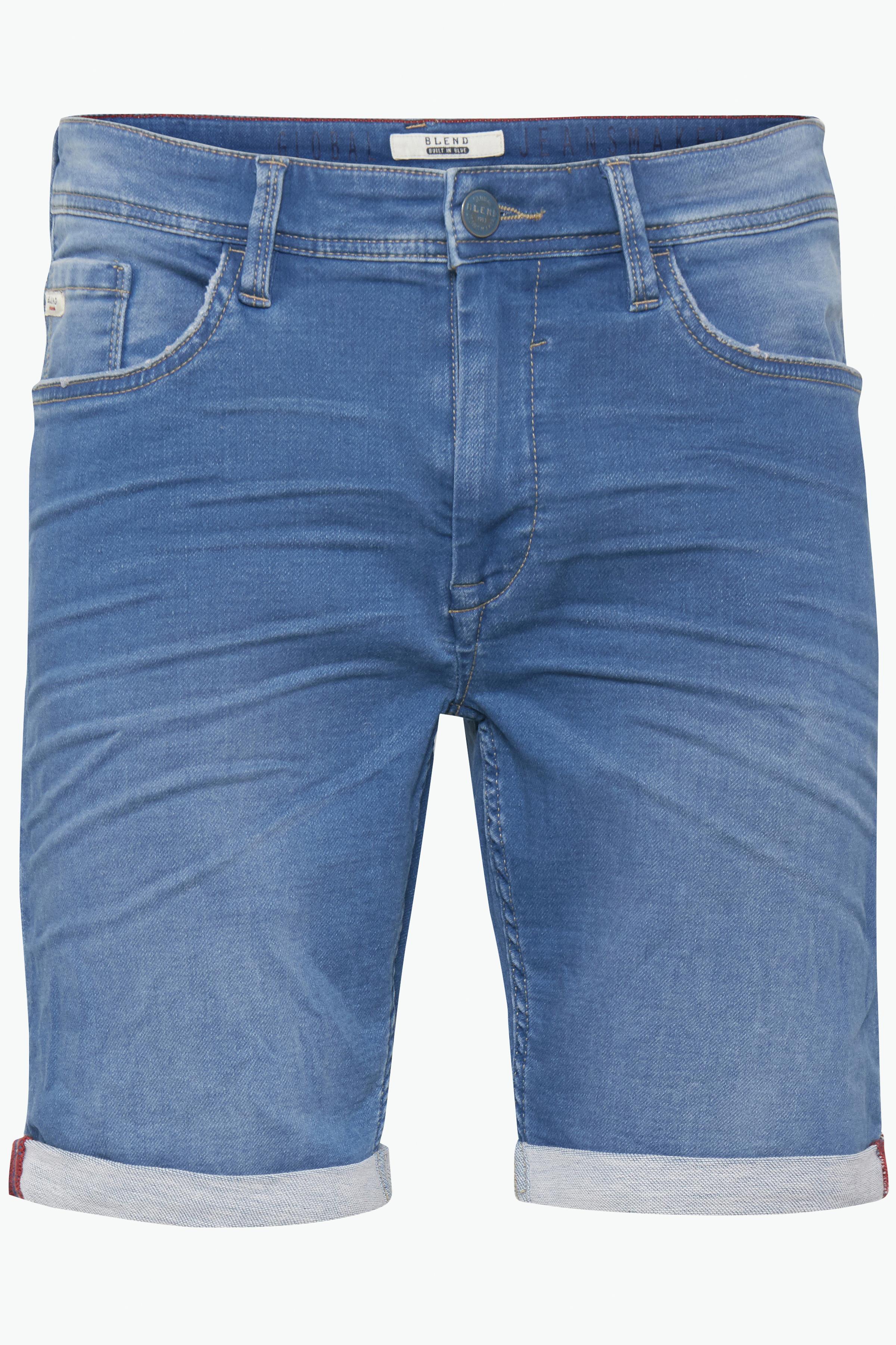 Denim Middle blue Denimshorts – Køb Denim Middle blue Denimshorts fra str. M-XXL her