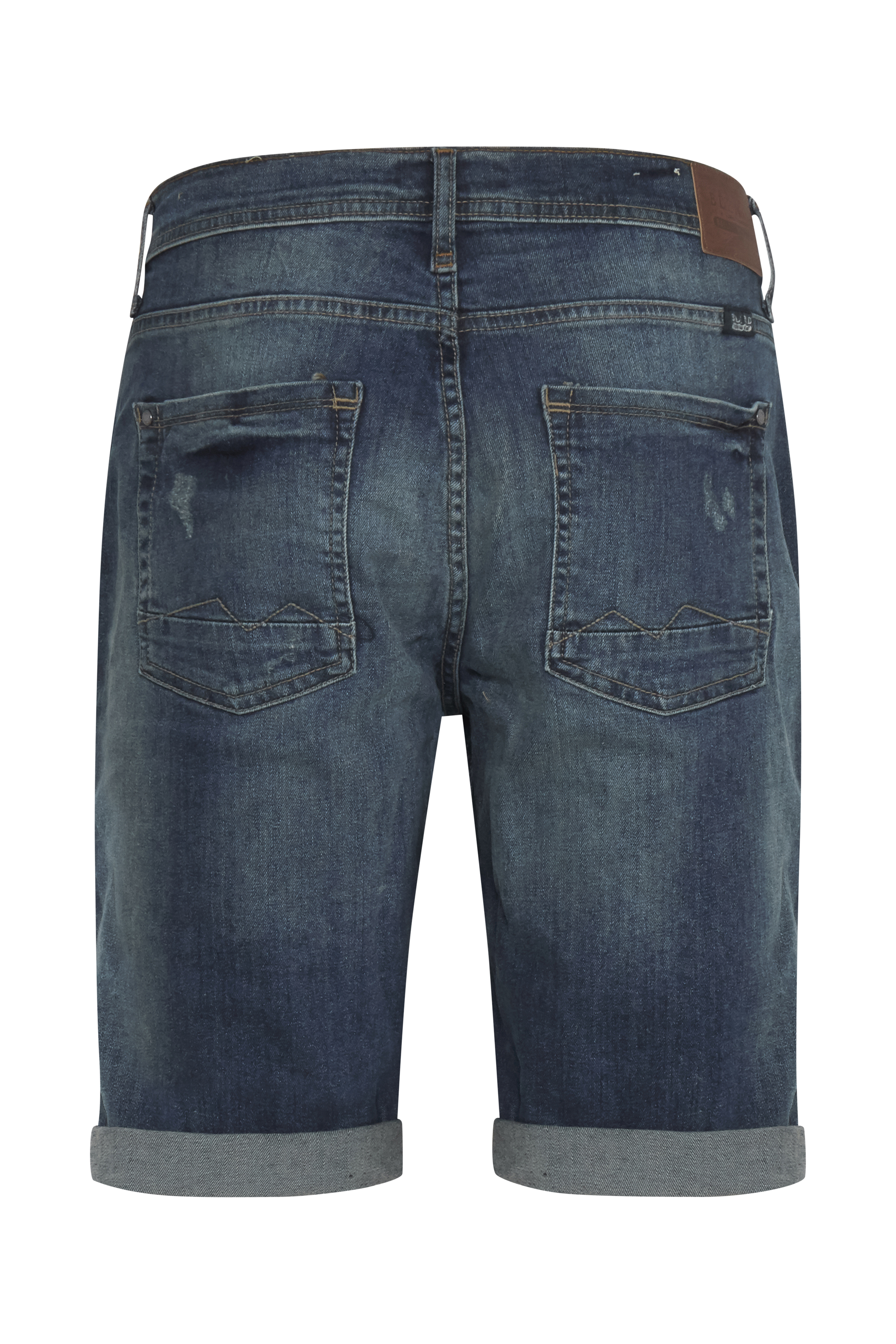 Denim Middle blue Denimshorts – Køb Denim Middle blue Denimshorts fra str. M-3XL her