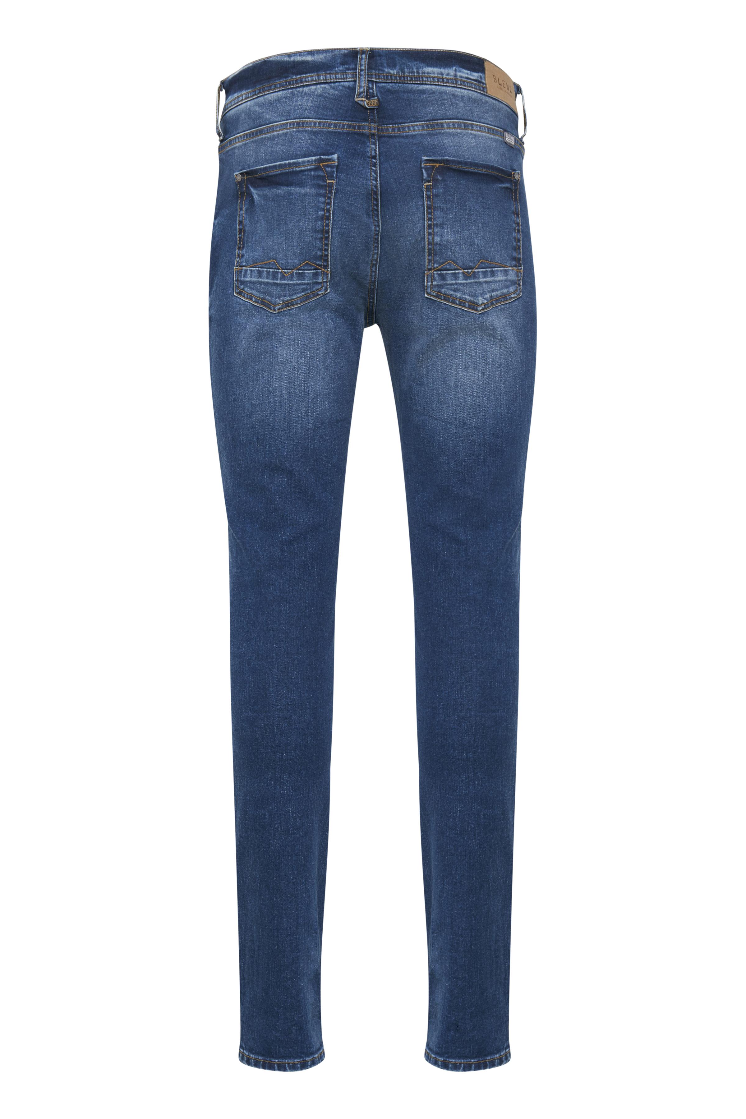 Denim Middle blue Echo jeans fra Blend He – Køb Denim Middle blue Echo jeans fra str. 30-40 her
