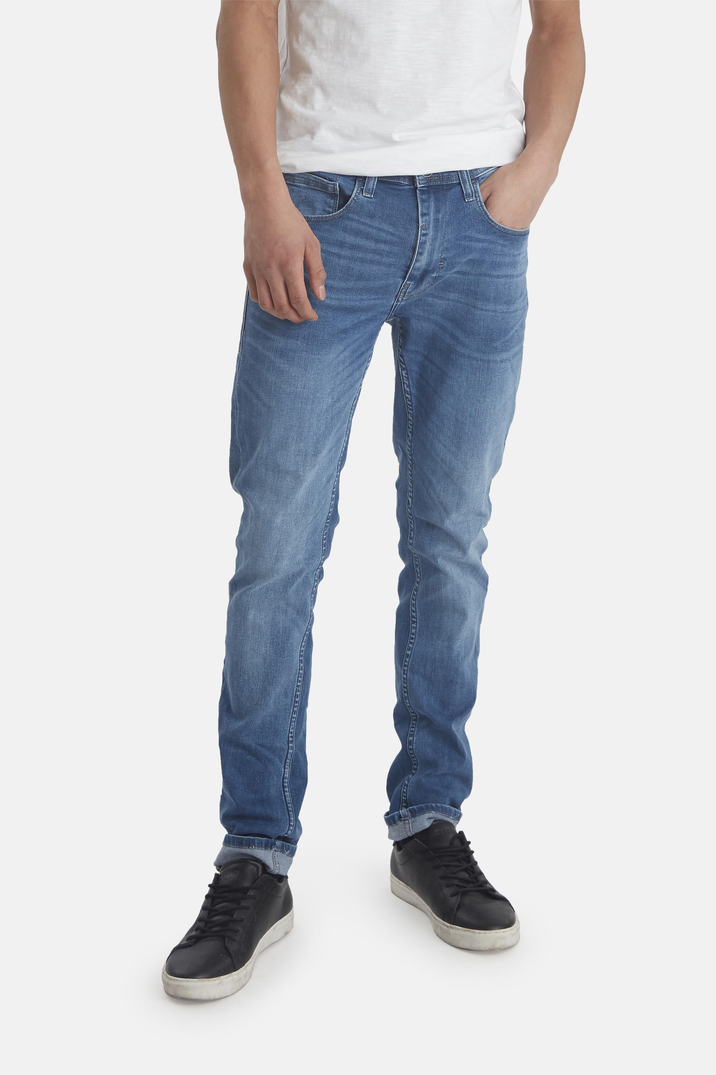 Denim Middle blue Jet jeans fra Blend He – Køb Denim Middle blue Jet jeans fra str. 33-36 her
