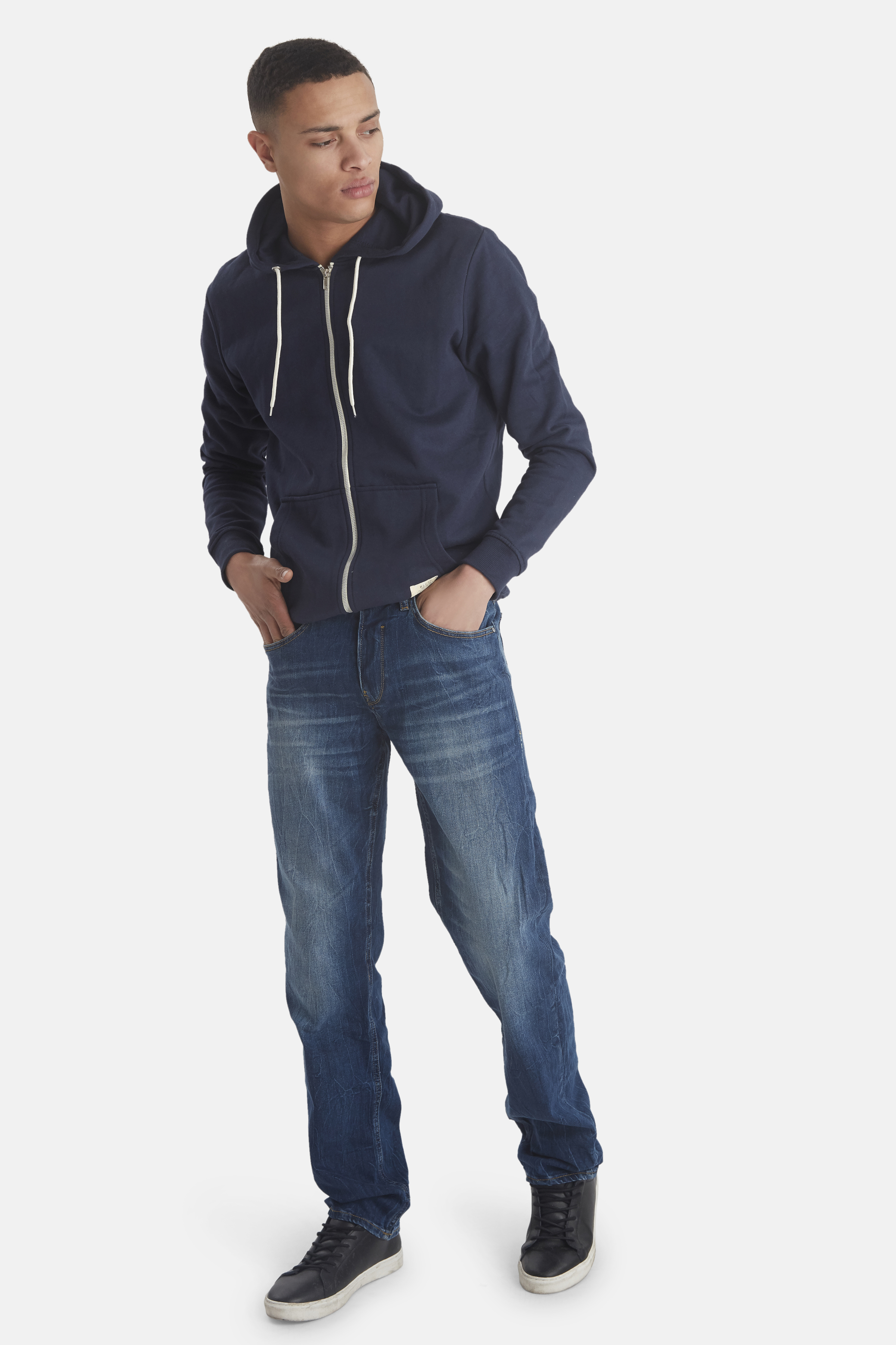 Denim Middle blue Rock jeans – Køb Denim Middle blue Rock jeans fra str. 29-36 her