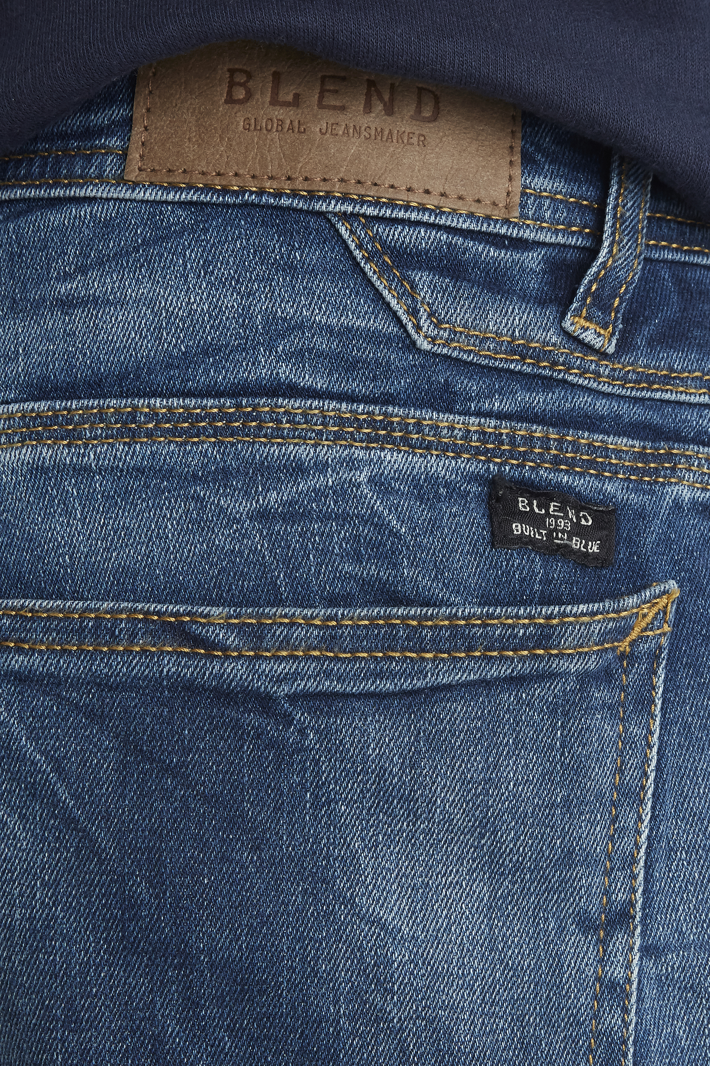 Denim Middle blue Rock jeans – Køb Denim Middle blue Rock jeans fra str. 29-36 her