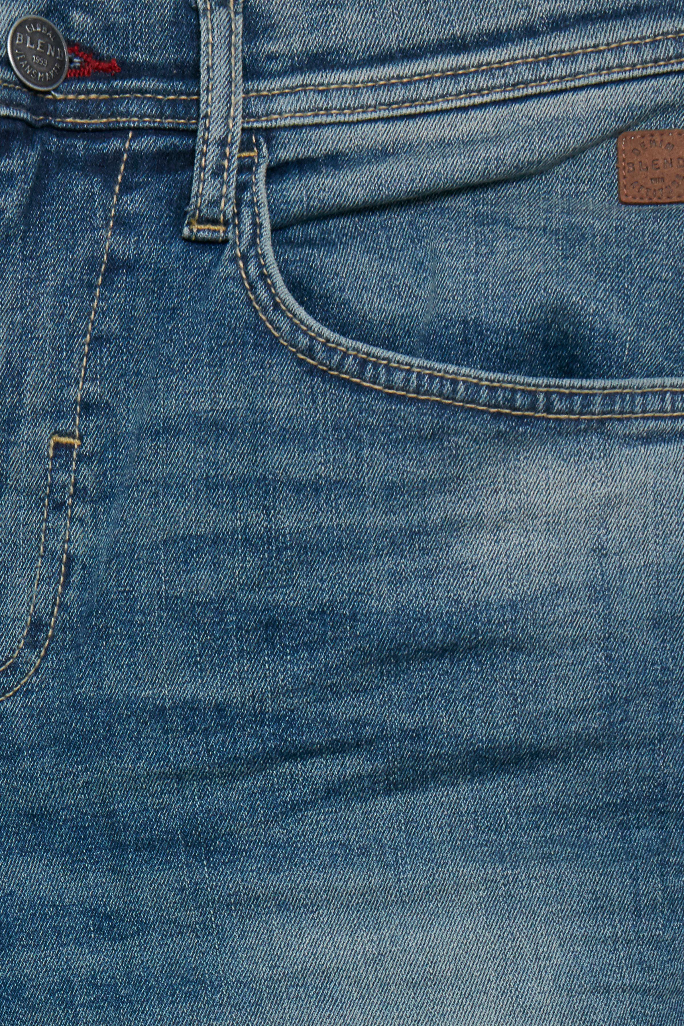 Denim Middle blue Twister jeans fra Blend He – Køb Denim Middle blue Twister jeans fra str. 28-42 her