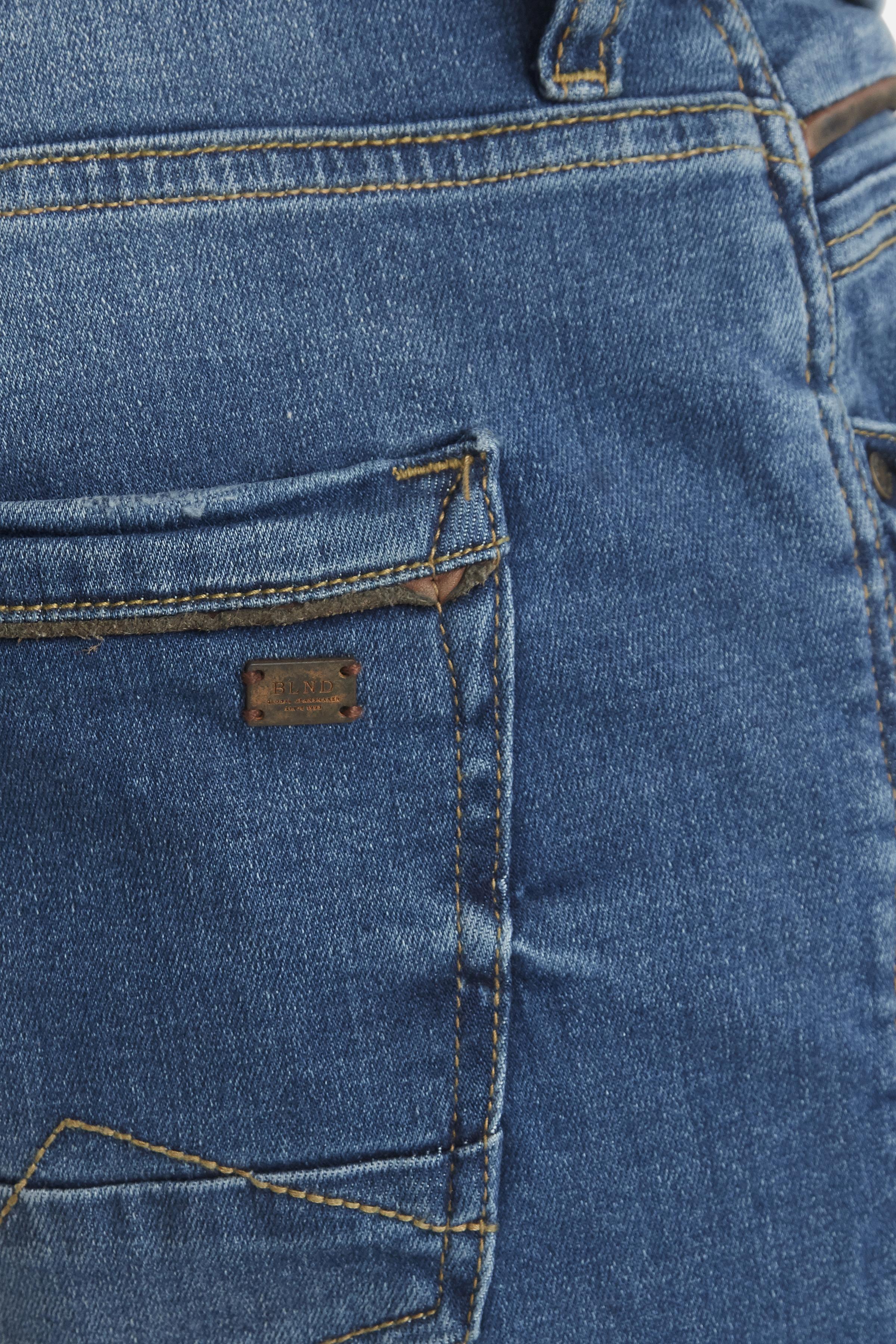 Denim Middle blue Twister jeans – Køb Denim Middle blue Twister jeans fra str. 29-40 her