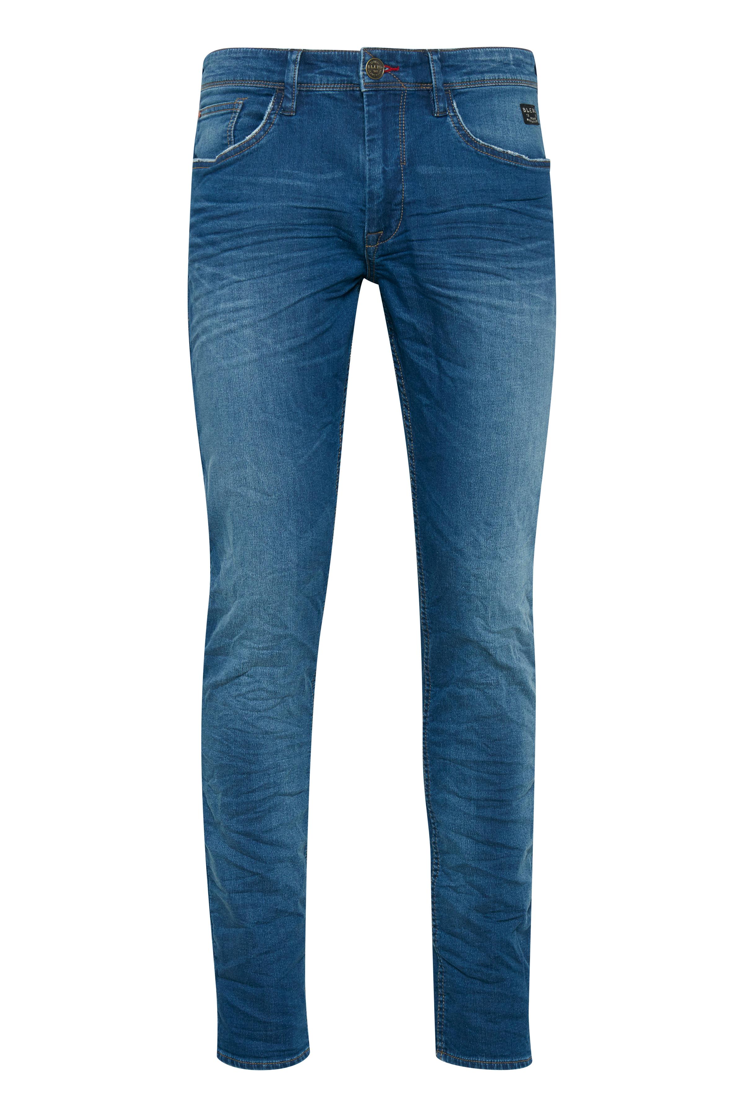 Denim Middle blue Twister jeans fra Blend He – Køb Denim Middle blue Twister jeans fra str. 28-40 her