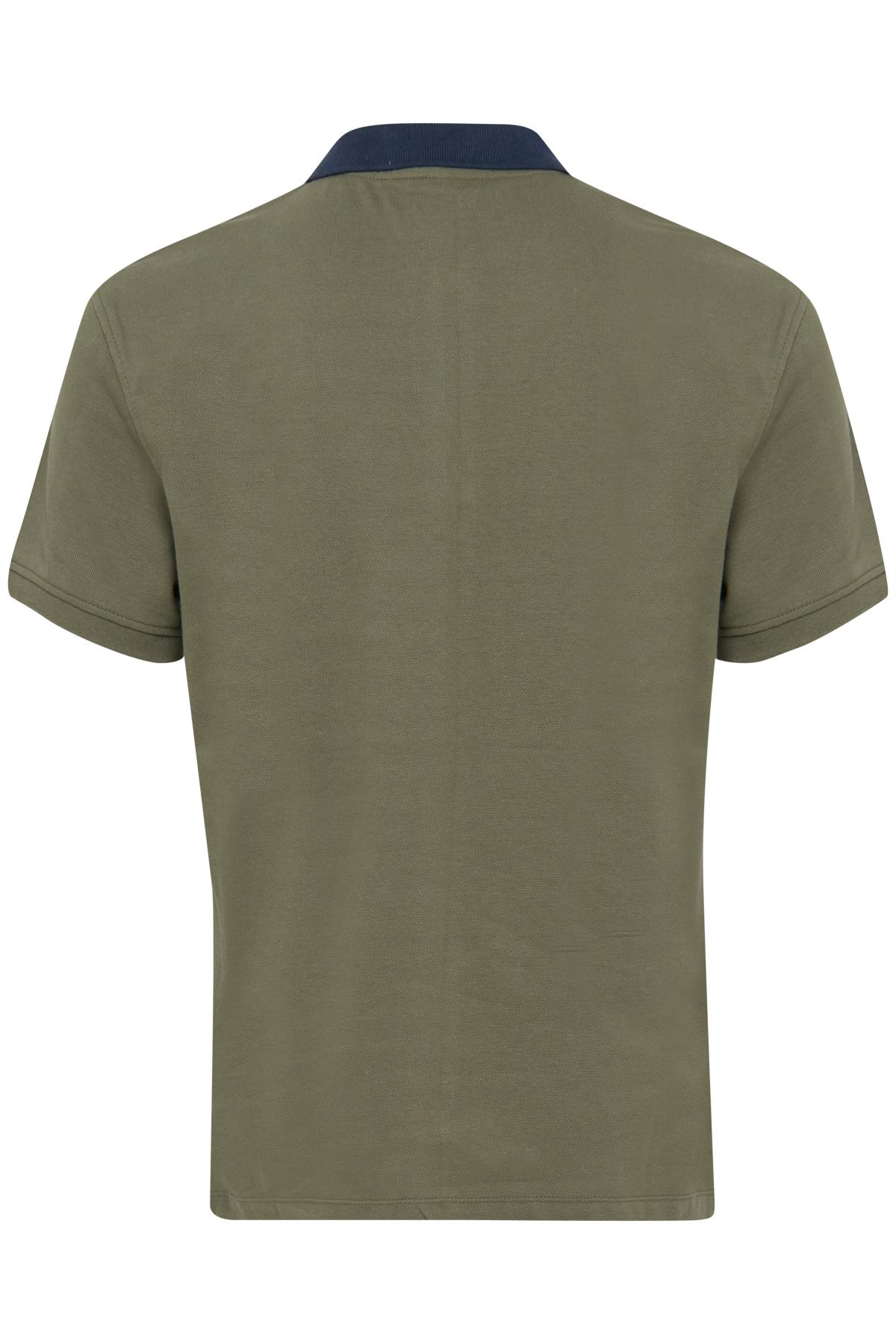 Dusty Olive Green Polo-shirt – Køb Dusty Olive Green Polo-shirt fra str. S-3XL her