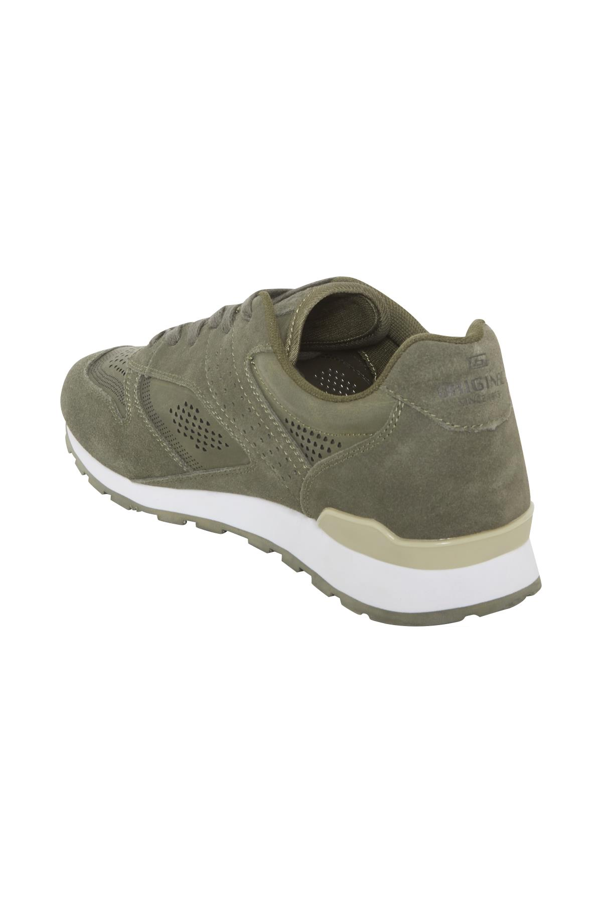 Dusty Olive Green Shoe fra Blend He Shoes – Køb Dusty Olive Green Shoe fra str. 41-46 her