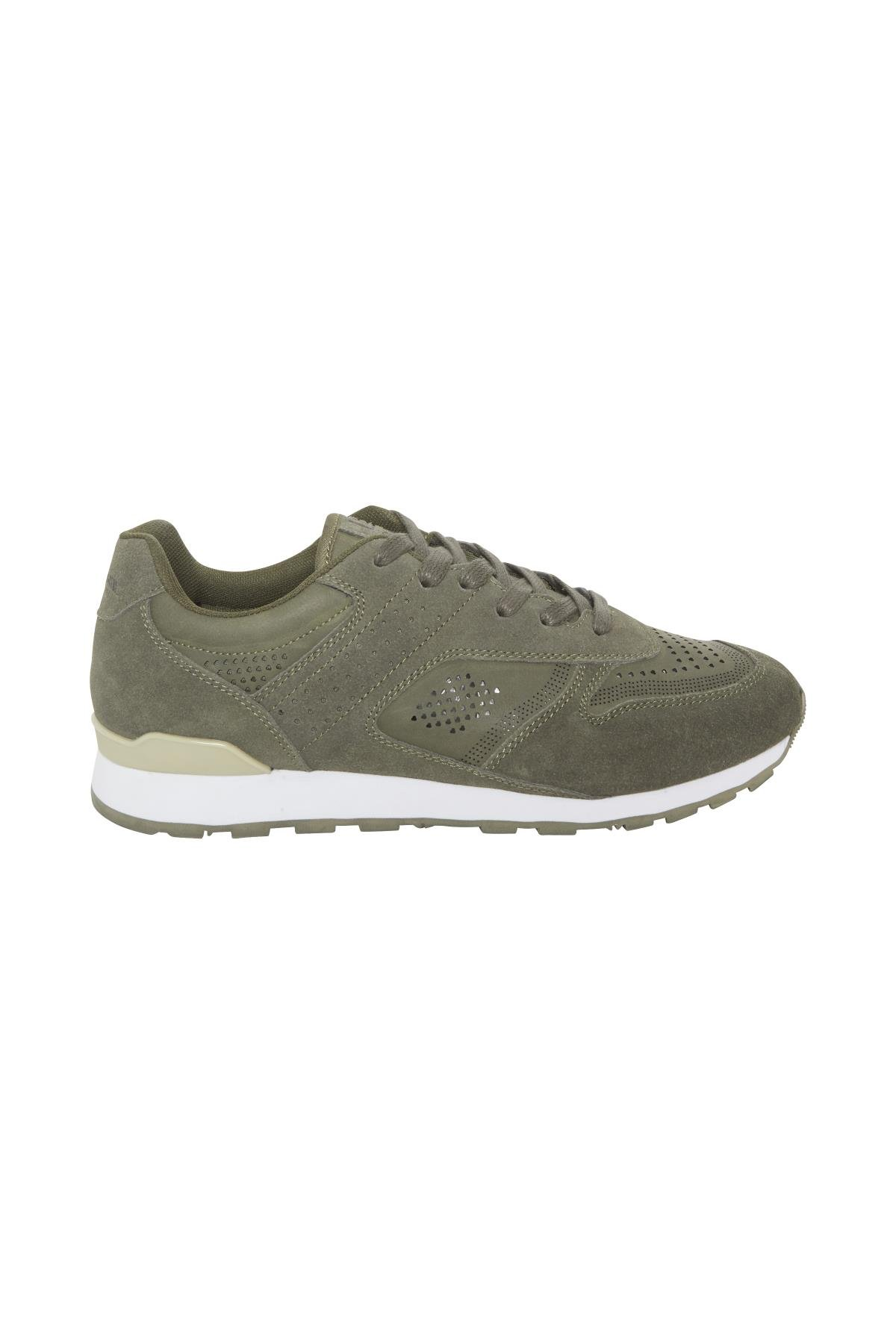 Dusty Olive Green Sneakers fra Blend He Shoes – Køb Dusty Olive Green Sneakers fra str. 41-46 her