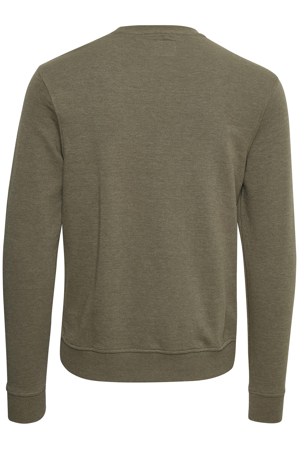 Dusty Olive Green Sweatshirt – Køb Dusty Olive Green Sweatshirt fra str. S-XXL her